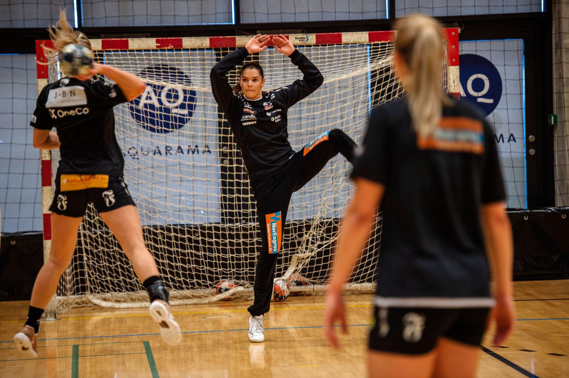 Vipers går inn i sesongen med Andrea Austmo Pedersen som den eneste skadefrie målvakten.