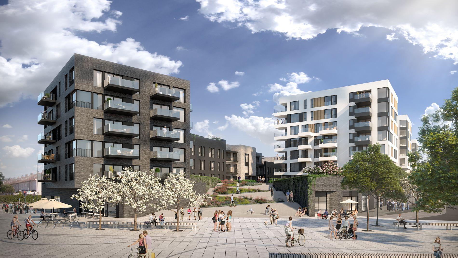 Liv-Marit Løvdal Engbu i Asplan Viak har vært en av arkitektene som har hatt ansvar for utformingen av Marvikssletta på Lund i Kristiansand.
