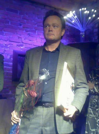 VANT: Fredrik Græsvik ble i kveld premiert for sine reportasjer fra Midtøsten.