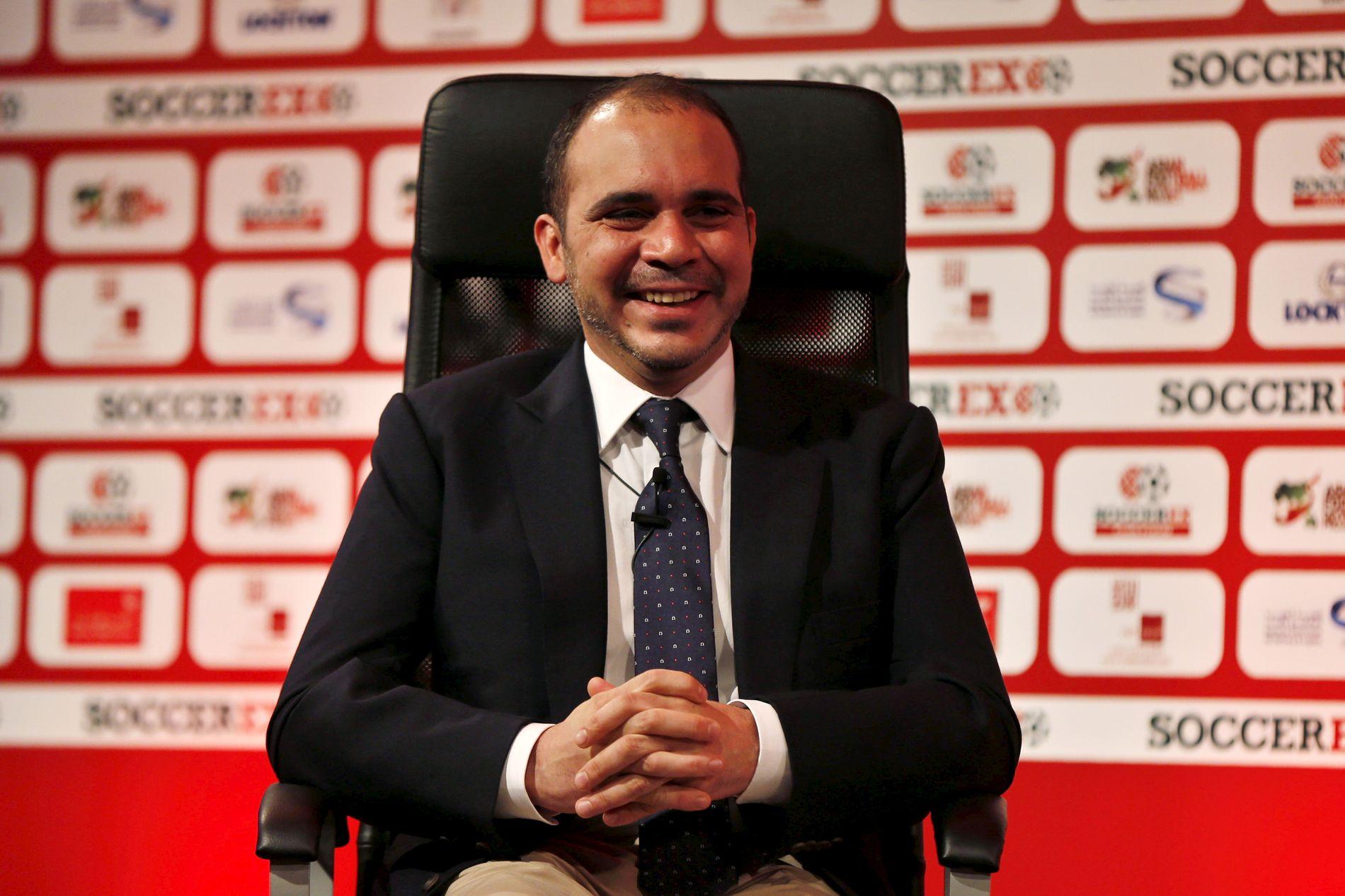 MOTKANDIDAT: Prins Ali av Jordan er Sepp Blatters motkandidat i det forestående FIFA-valget.