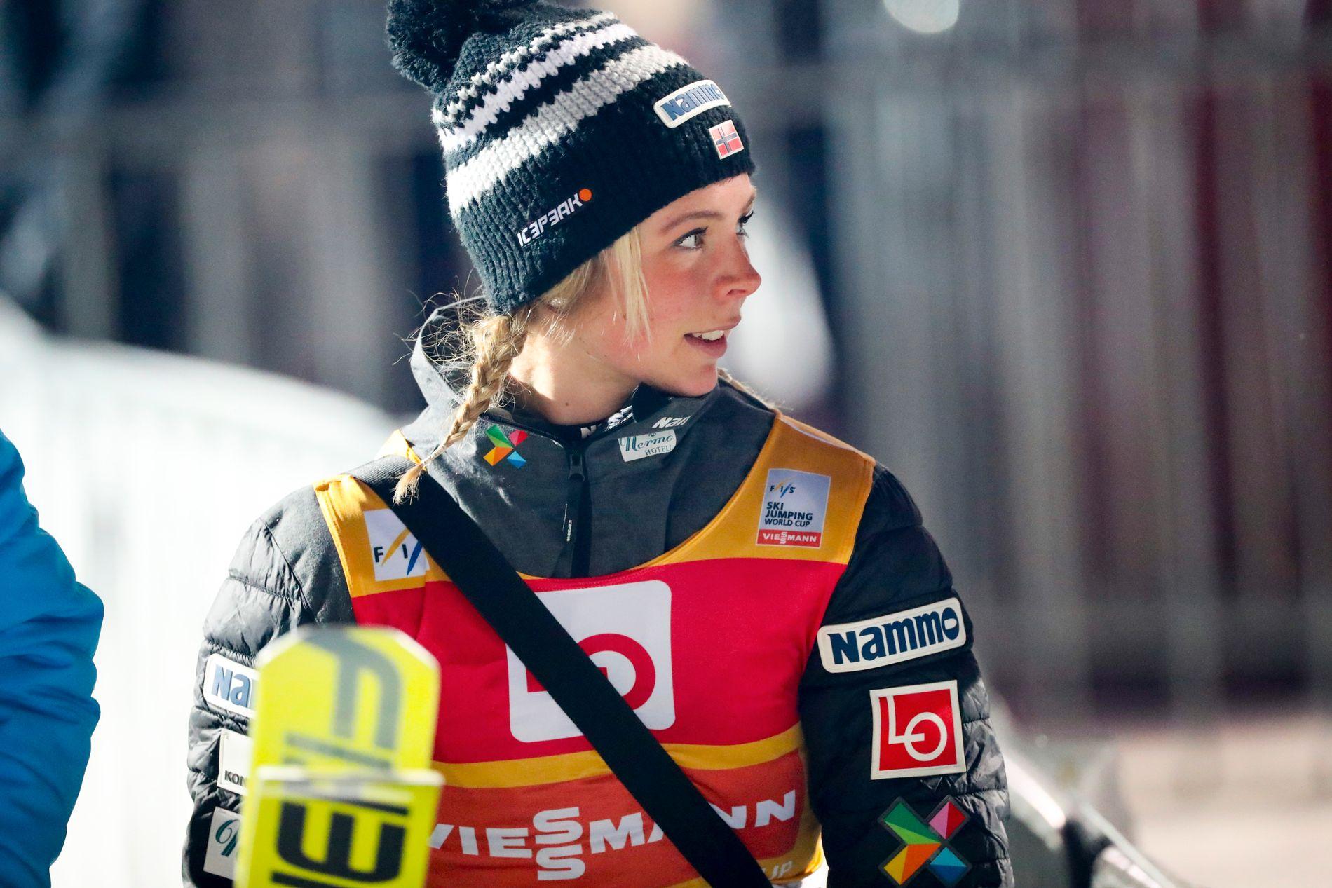 Maren Lundby fikk det ikke til å stemme i Russland lørdag.