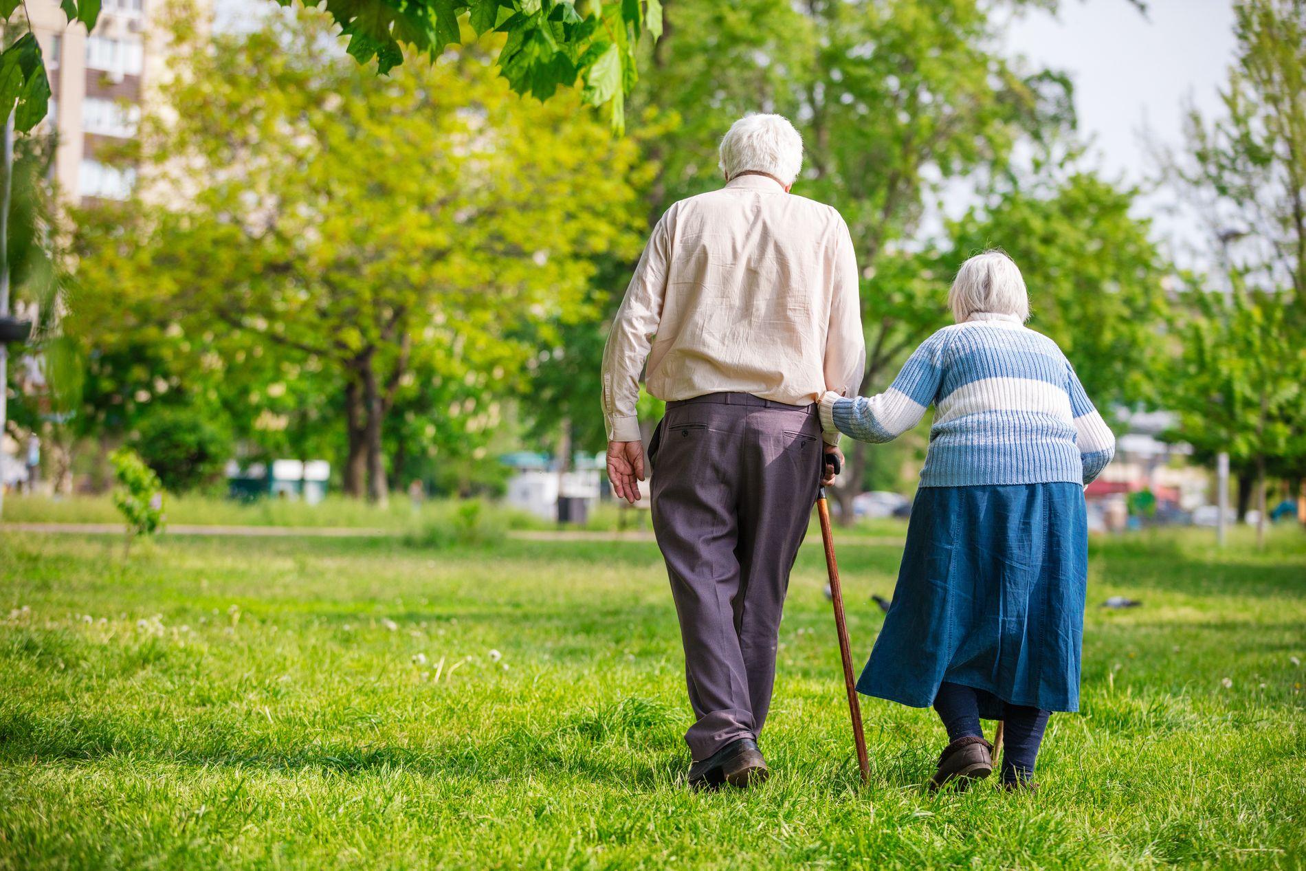 FORSIKTIG LIV: Dette er menneskene som har levd et forsiktig liv for å kunne klare seg i alderdommen, skriver innsender.