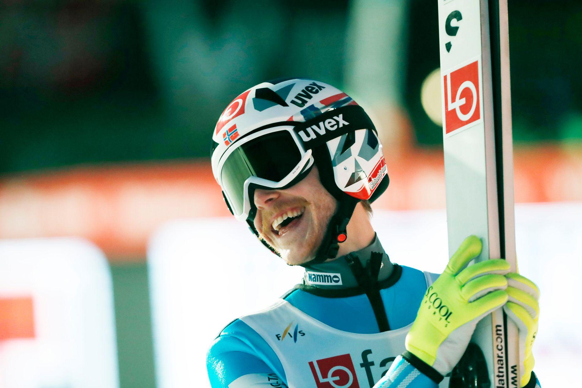 Robert Johansson fortsetter å imponere i skiflyvning.