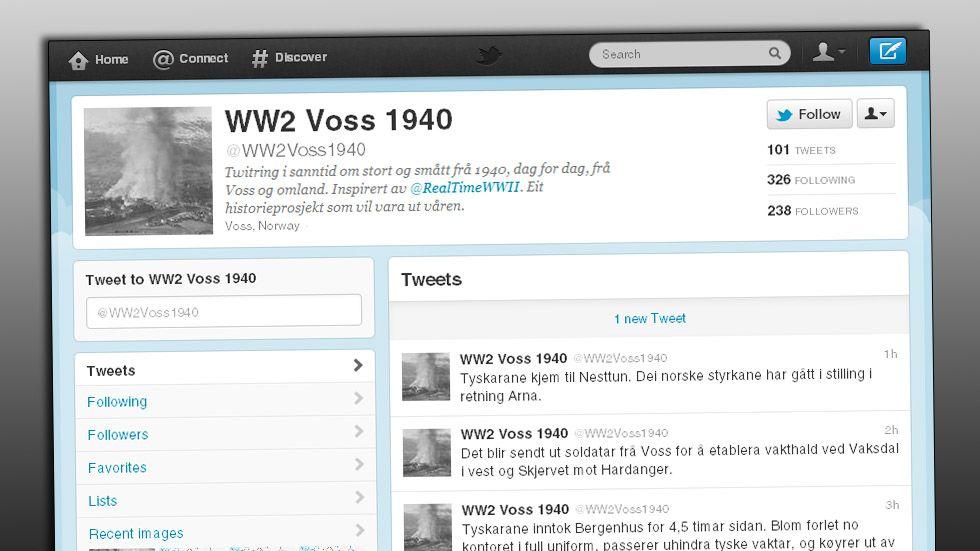 DIREKTE: Øystein Hellesøe Brekke oppdaterer Twitter-kontoen sin etter hvert som krigen skrider fram i Hordaland.