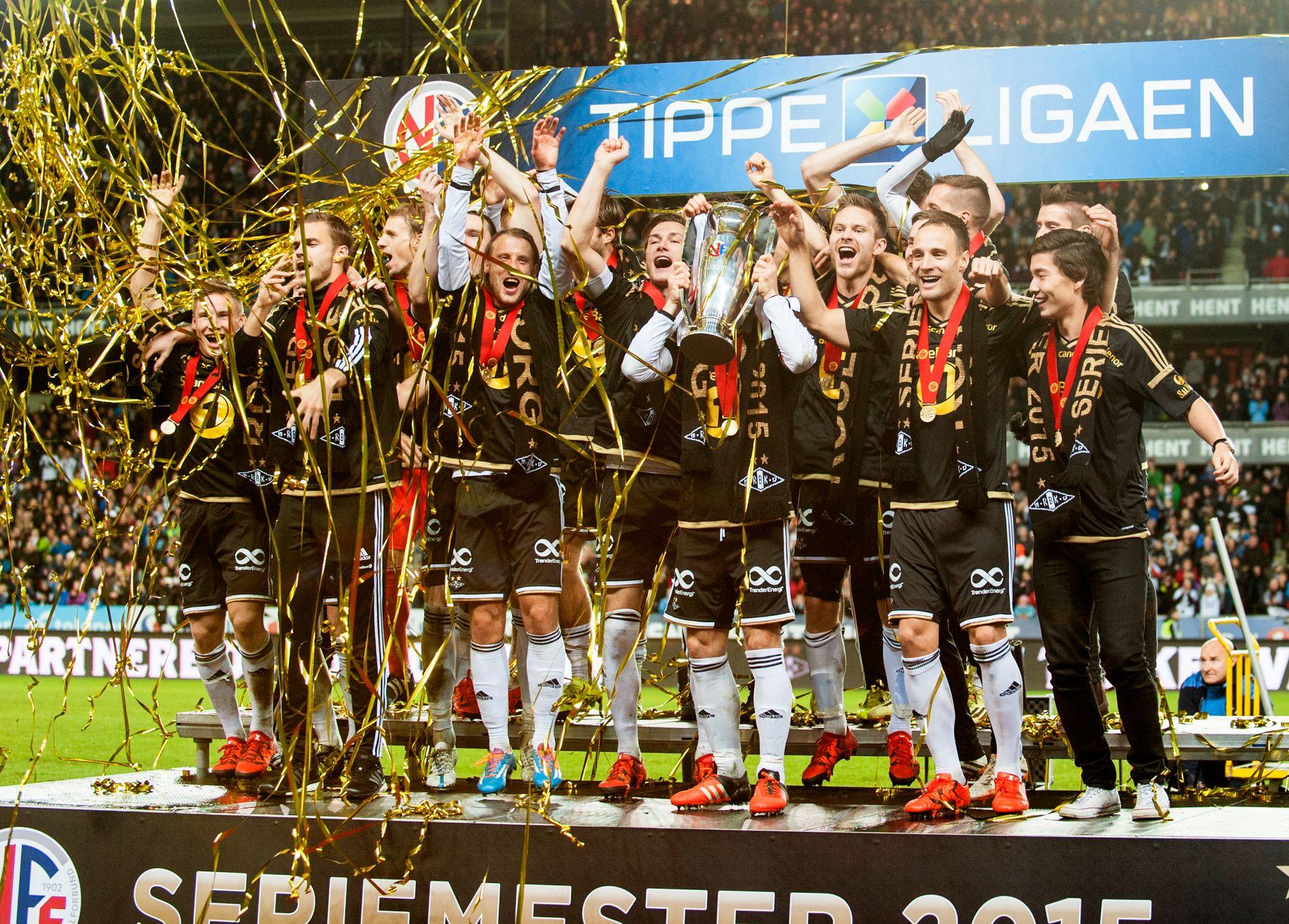Rosenborg ble seriemester i eliteserien i 2015. Fra 2017 skal Discovery ha TV-rettighetene.