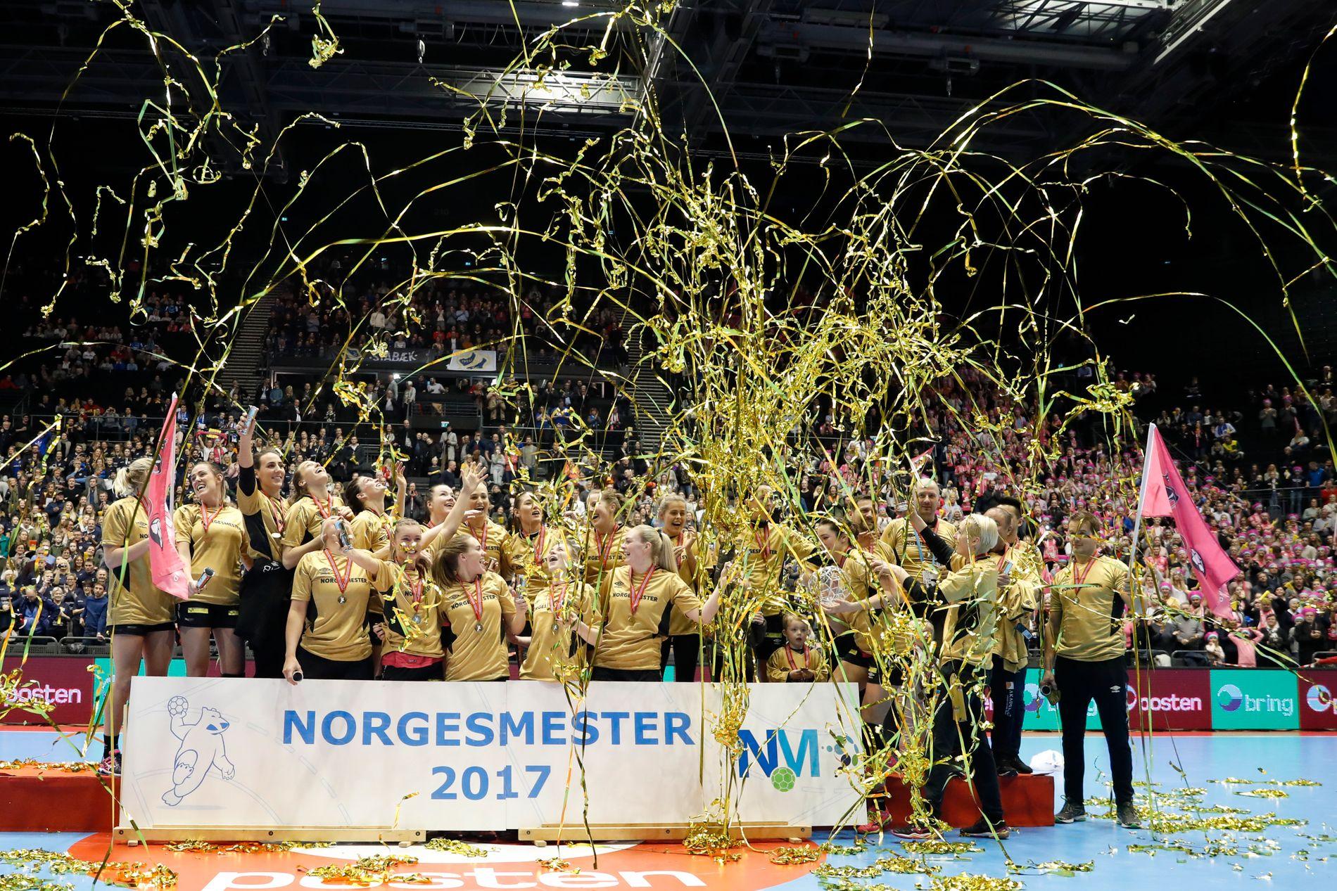 I sin andre NM-finale utklasset Vipers Stabæk med 30–17 i Oslo Spektrum i desember 2017 og erobret sin første tittel.