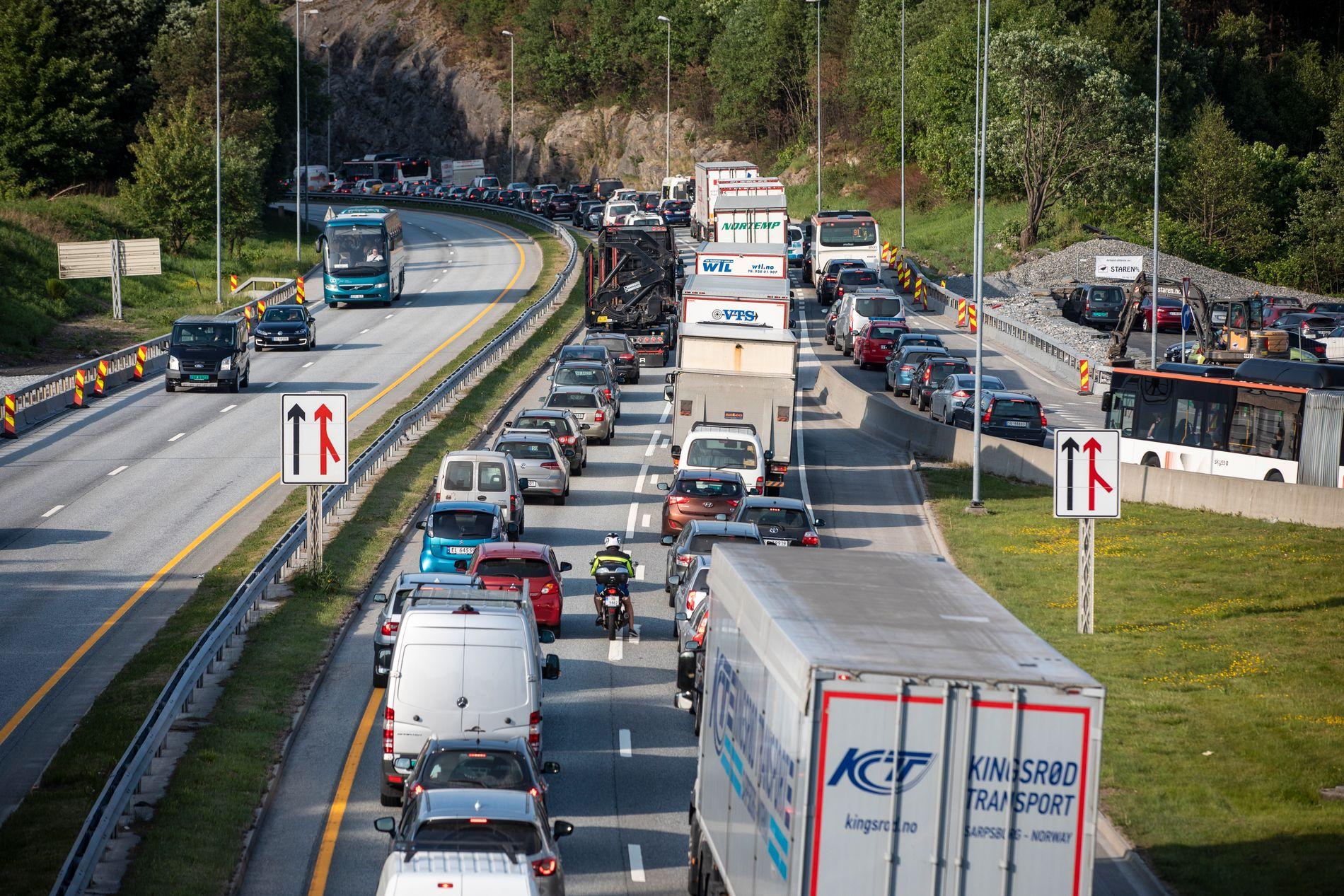 MER FART: Innsenderen går inn for å øke fartsgrensen fra Vågsbotn til Handelshøyskolen.