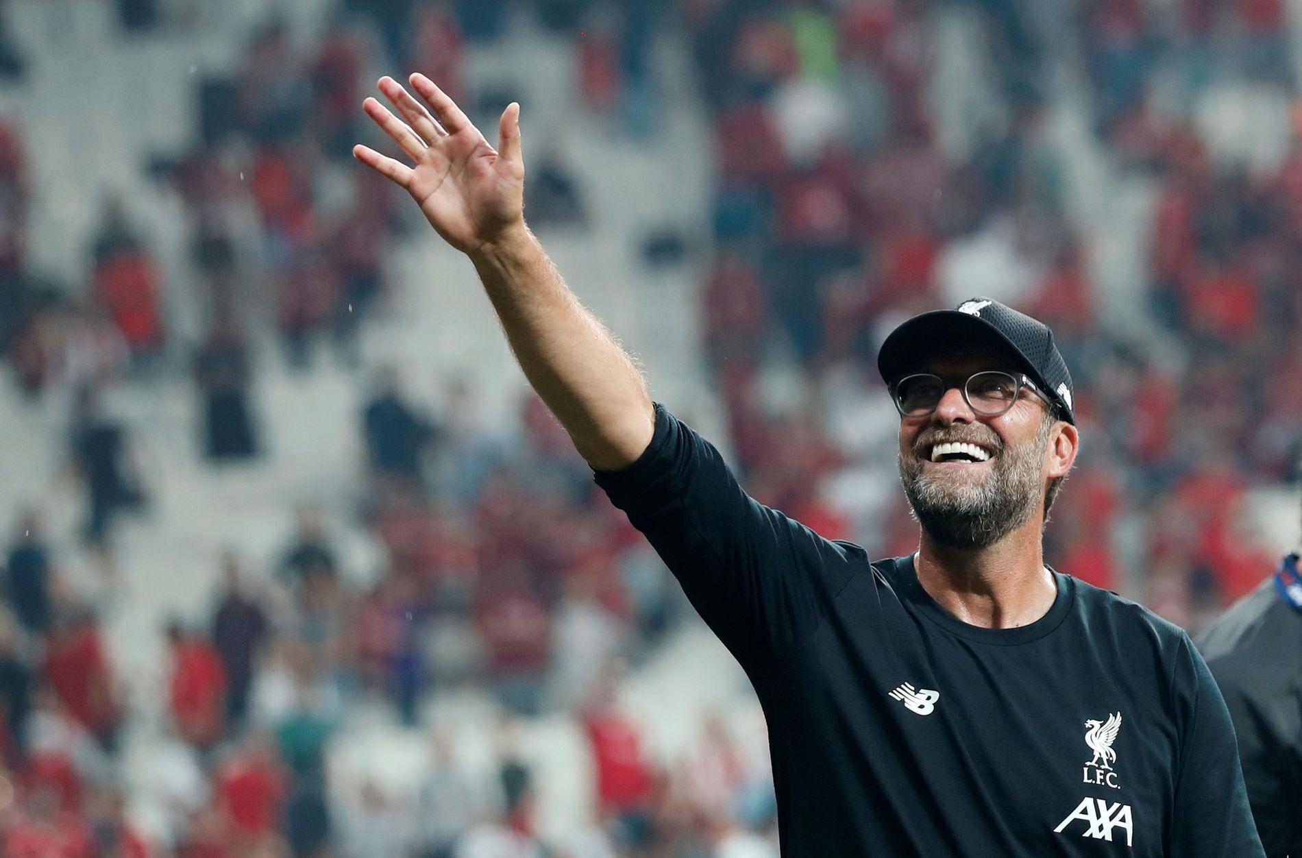 Jürgen Klopp var en lykkelig mann etter finaleseieren.
