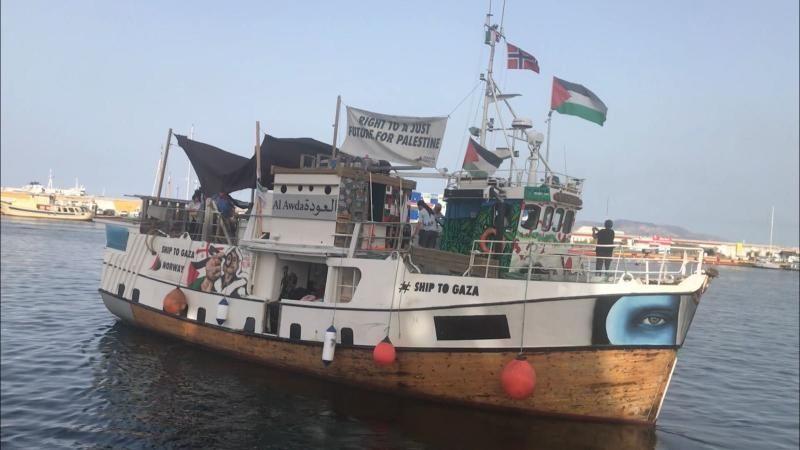 I ARREST: Nå er det viktig at mannskapet kommer hjem i god behold. Det er like viktig at internasjonale organisasjoner og FN fortsetter arbeidet for å bedre den humanitære situasjonen for folket på Gaza, mener BT.