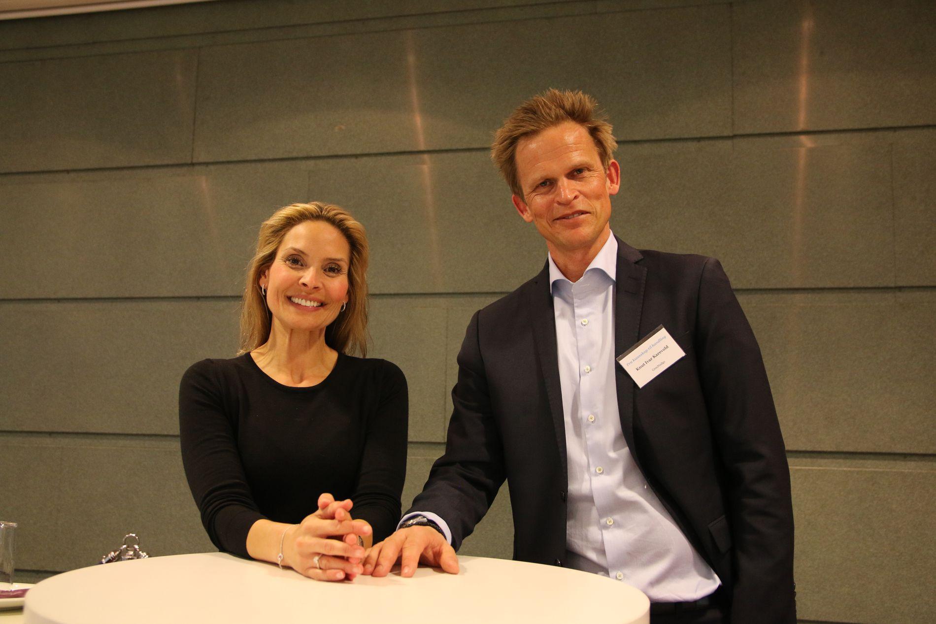 Samira Lekhal og Knut Ivar Karevold har utarbeidet en rapport om hvordan nordmenn skal hjelpes til å ta sunnere valg i hverdagen.