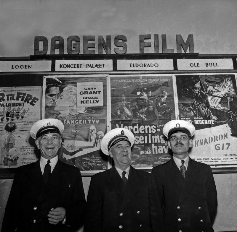 DEN GANG DA: Fra Bergen kino anno 1955.