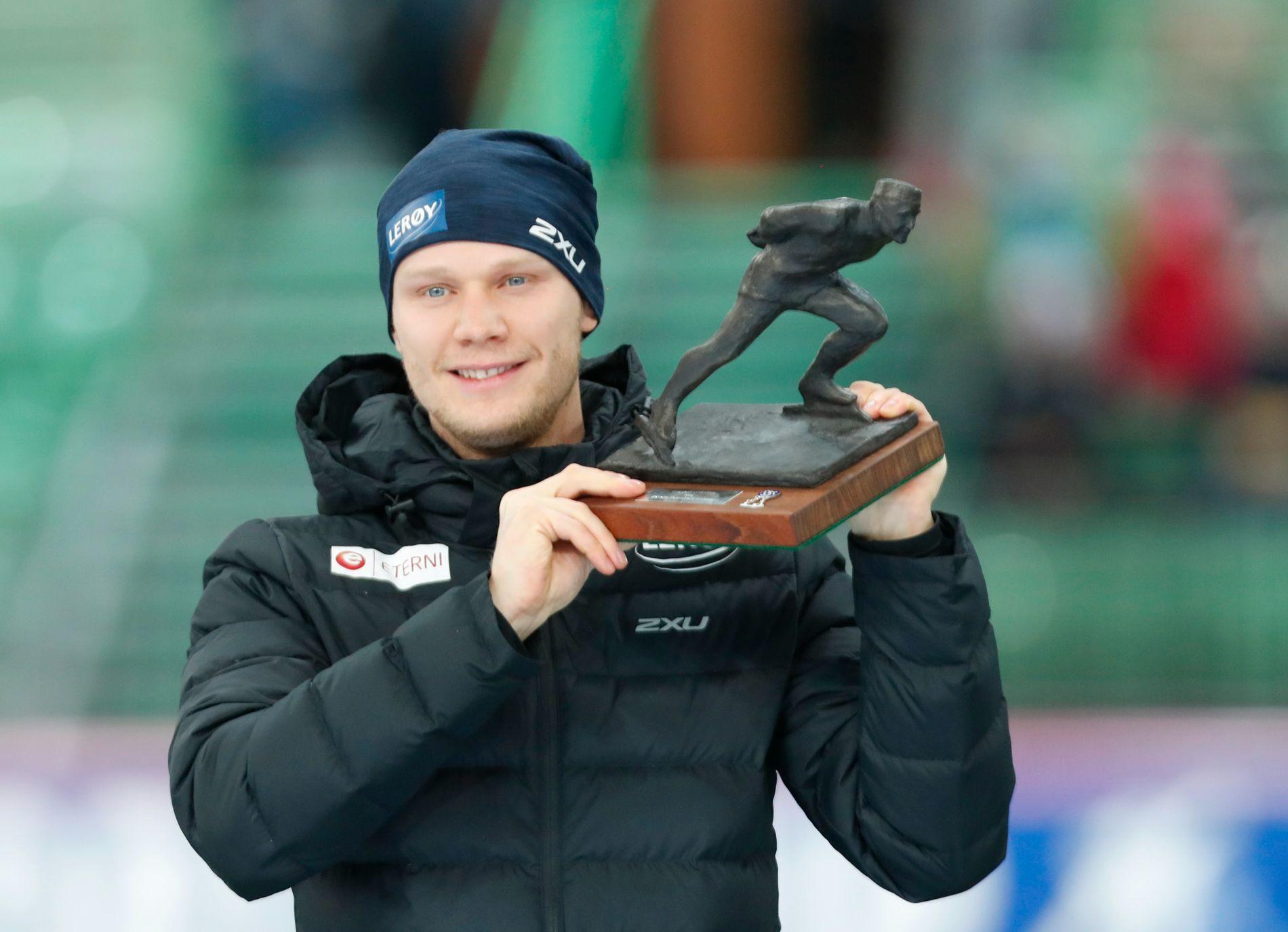 Lorentzen mottok, som første nordmann på 20 år, Oscarstatuetten for sine prestasjoner under OL.