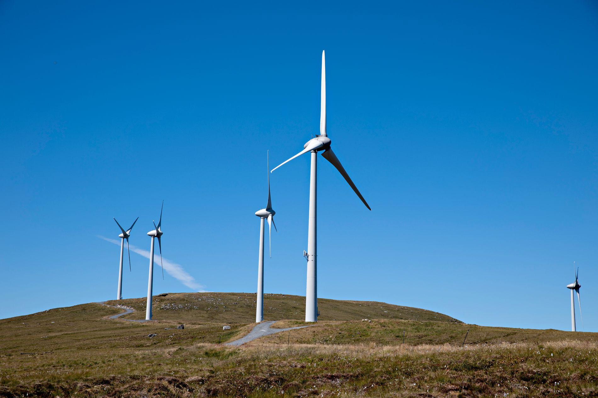 DOBLING: Akkurat no skjer ei rask utbygging av landbasert vindkraft i Norge. Det vil innebere ei dobling av vindkraftproduksjonen i Norge, skriv Kjersti Toppe.