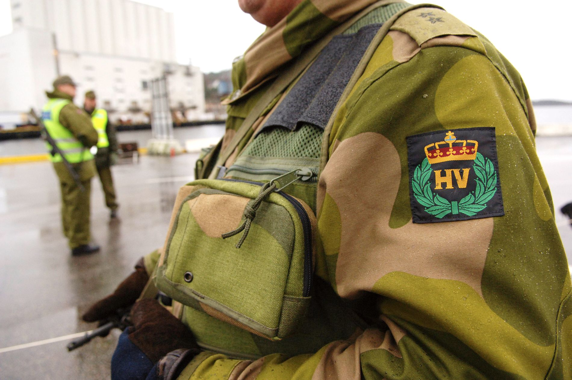 TRENGER SOLDATER: Samfunnskritiske bygg og installasjoner trenger mange soldater for å kunne sikres over litt tid, skriver Per Olaf Lundteigen.