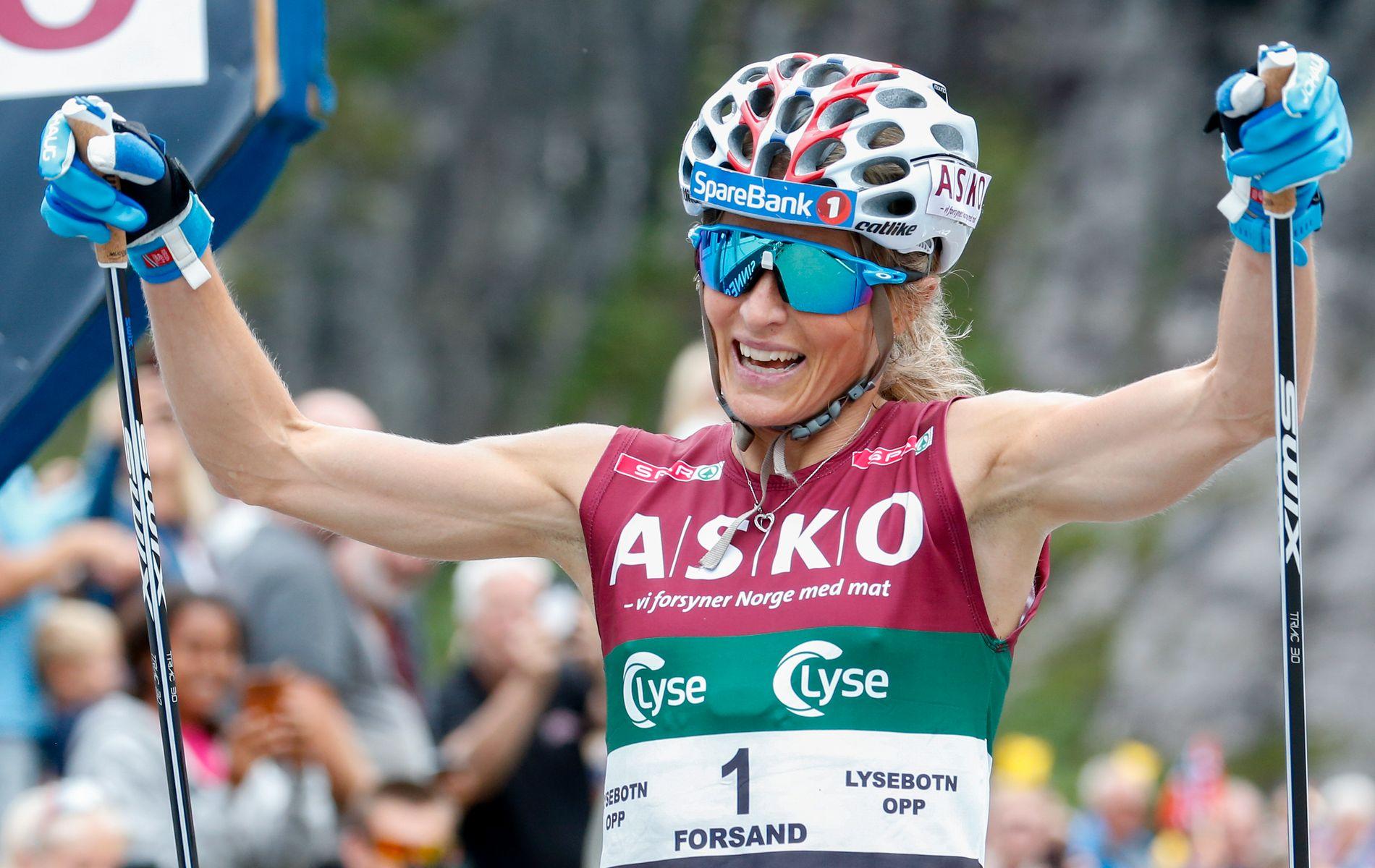 Therese Johaug skal løpe i friidretts-NM i helgen.