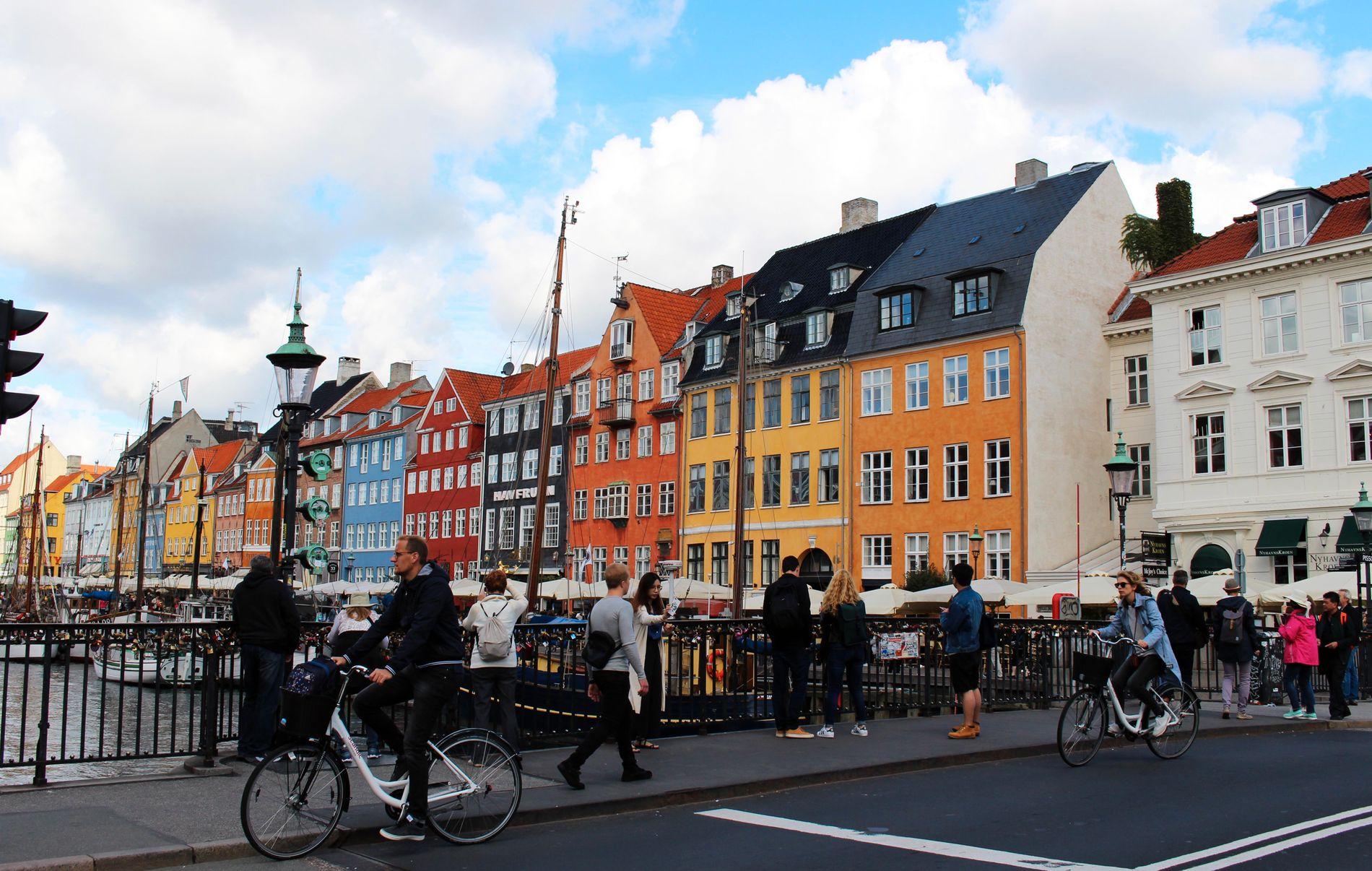 NYHAVN: Fargerike og fine Nyhavn er i dag et av Københavns mest besøkte turistmål. Men slik har det ikke alltid vært - frem til 1980-årene var havnekvarteret et av de mer lugubre og skumle i byen.