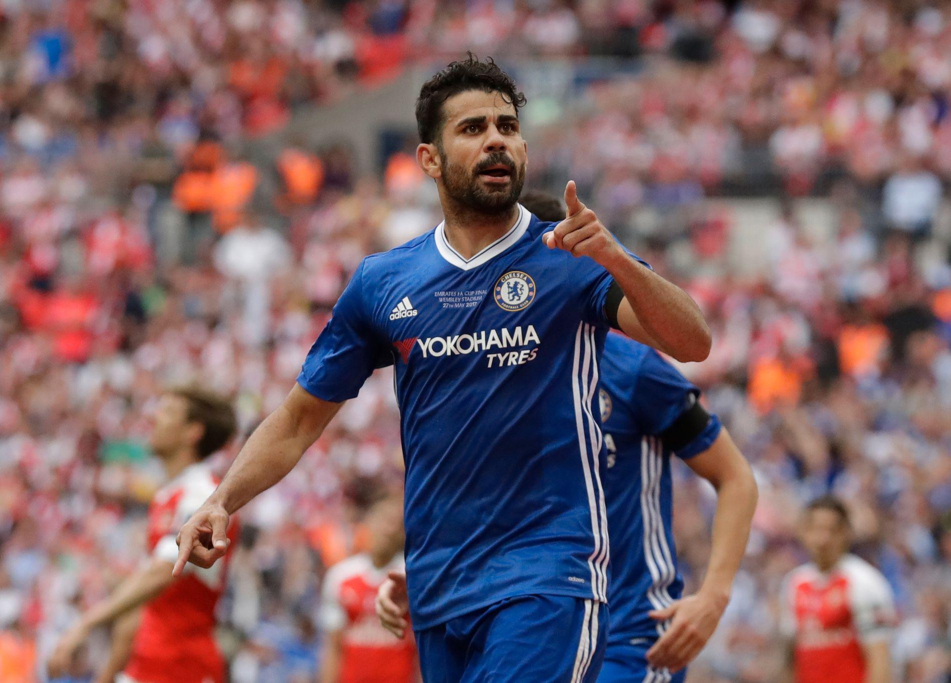 Diego Costa er ferdig i Chelsea.