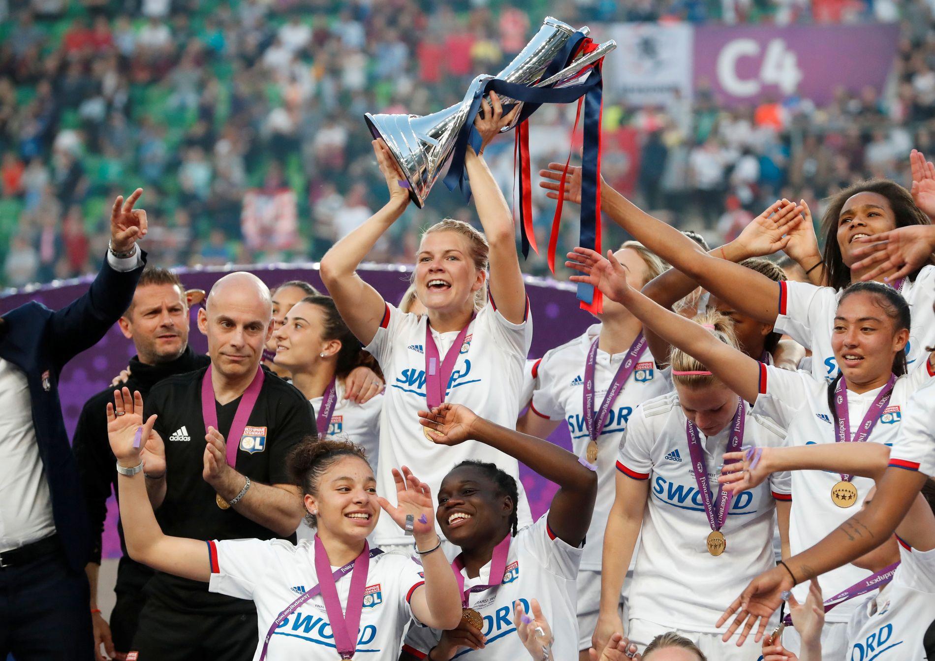 Får NFF godkjent en søknad om Champions League-finale, kan kanskje Ada Hegerberg løfte trofeet på Ullevaal i 2023.