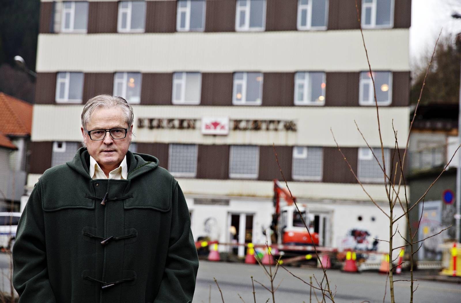 VIL HA MER AKTIVITET: Styreleder Per Magne Kristiansen ser for seg flere og kanskje litt mer kommersielle arrangementer i Bergens Kjøtts andre etasje.