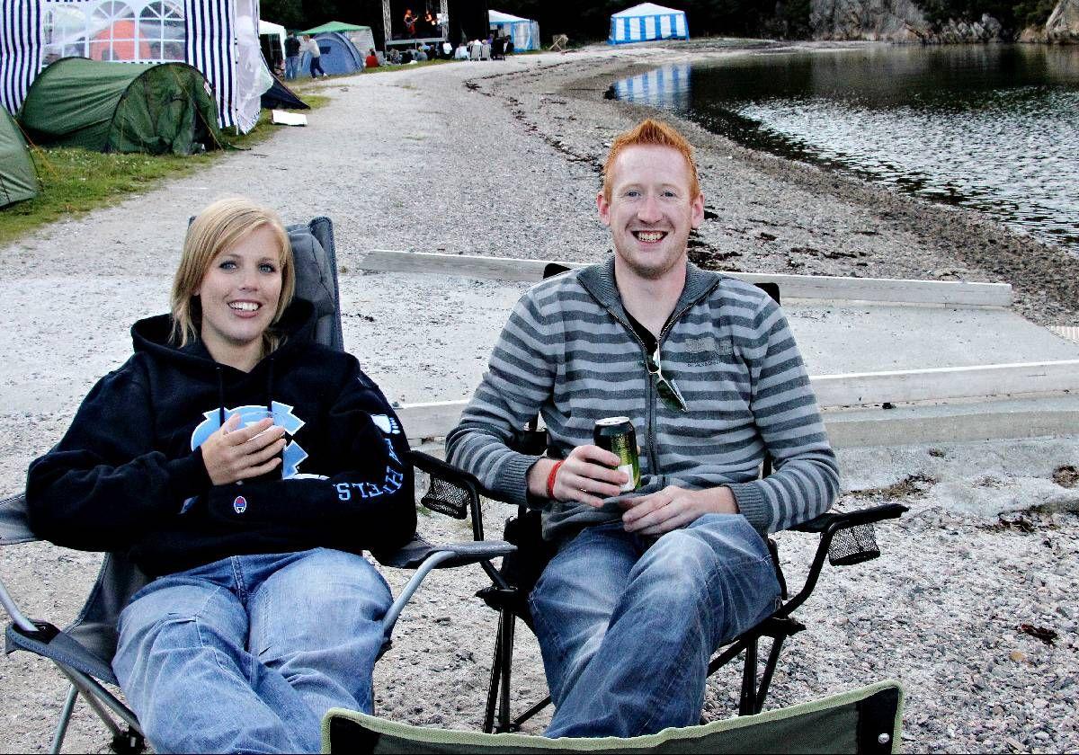 TILBAKE I ÅR: I fjor var Stine Fauskanger og Børge Eliussen på Lost Weekend for fjerde gang. Begge skal på Losten i helgen. –Det blir spennende med nytt konsept i år. Jeg håper de klarer å bygge opp en ny festival, sier Eliussen.
