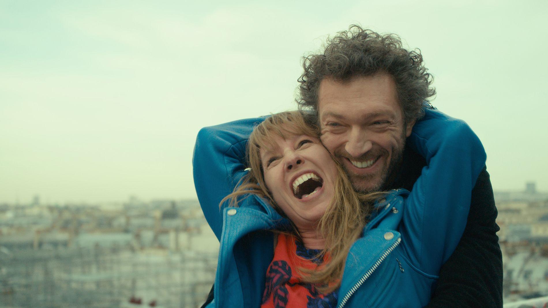 ELSKER: Emmanuelle Bercot og Vincent Cassel i lykkelige stunder i «Min elskede»