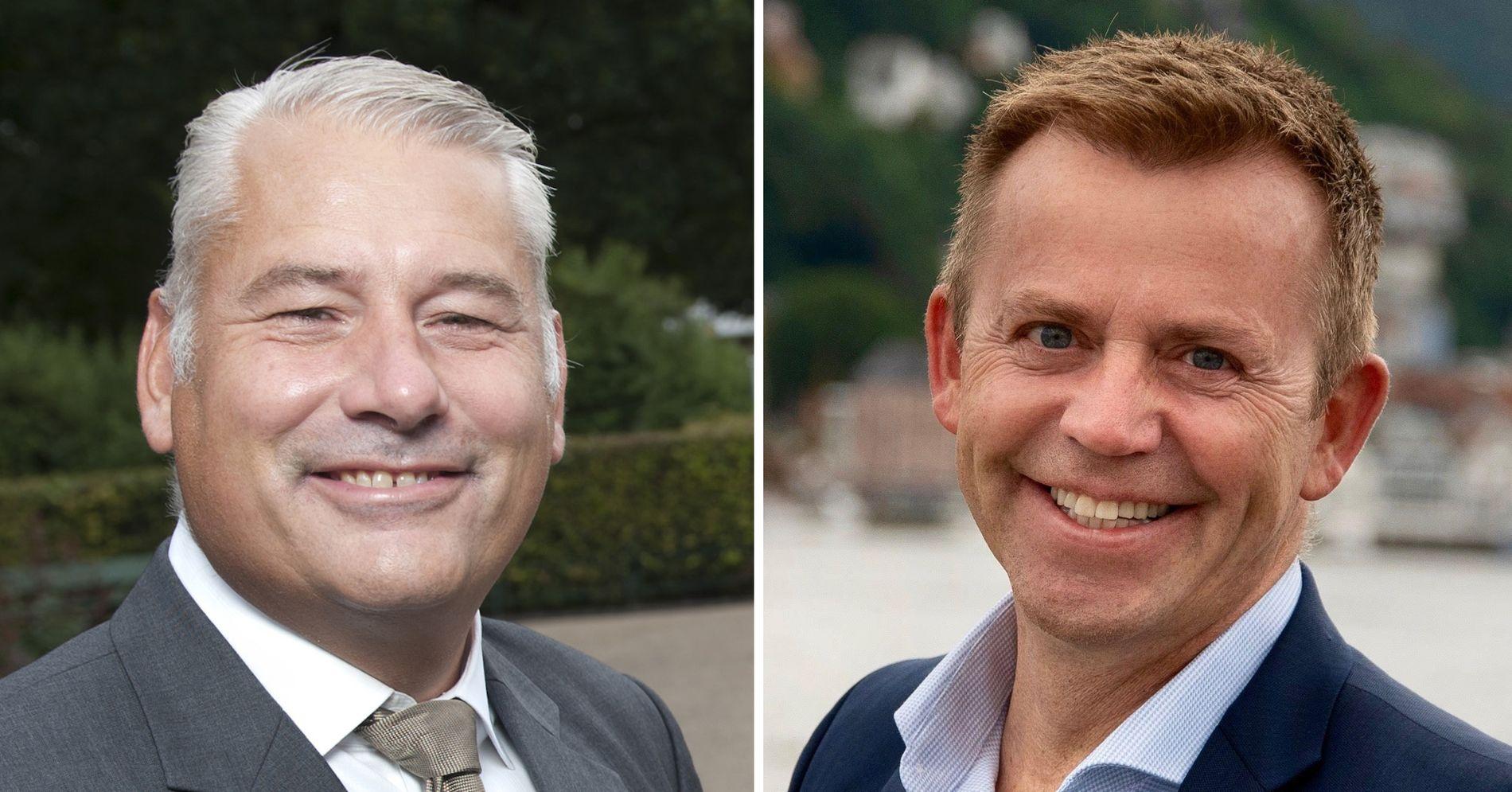 SKYGGER UNNA: For Trond Gullaksen og Tom-Arne Furnes er det utenkelig å støtte «eksosalliansen til Harald Victor Hove».