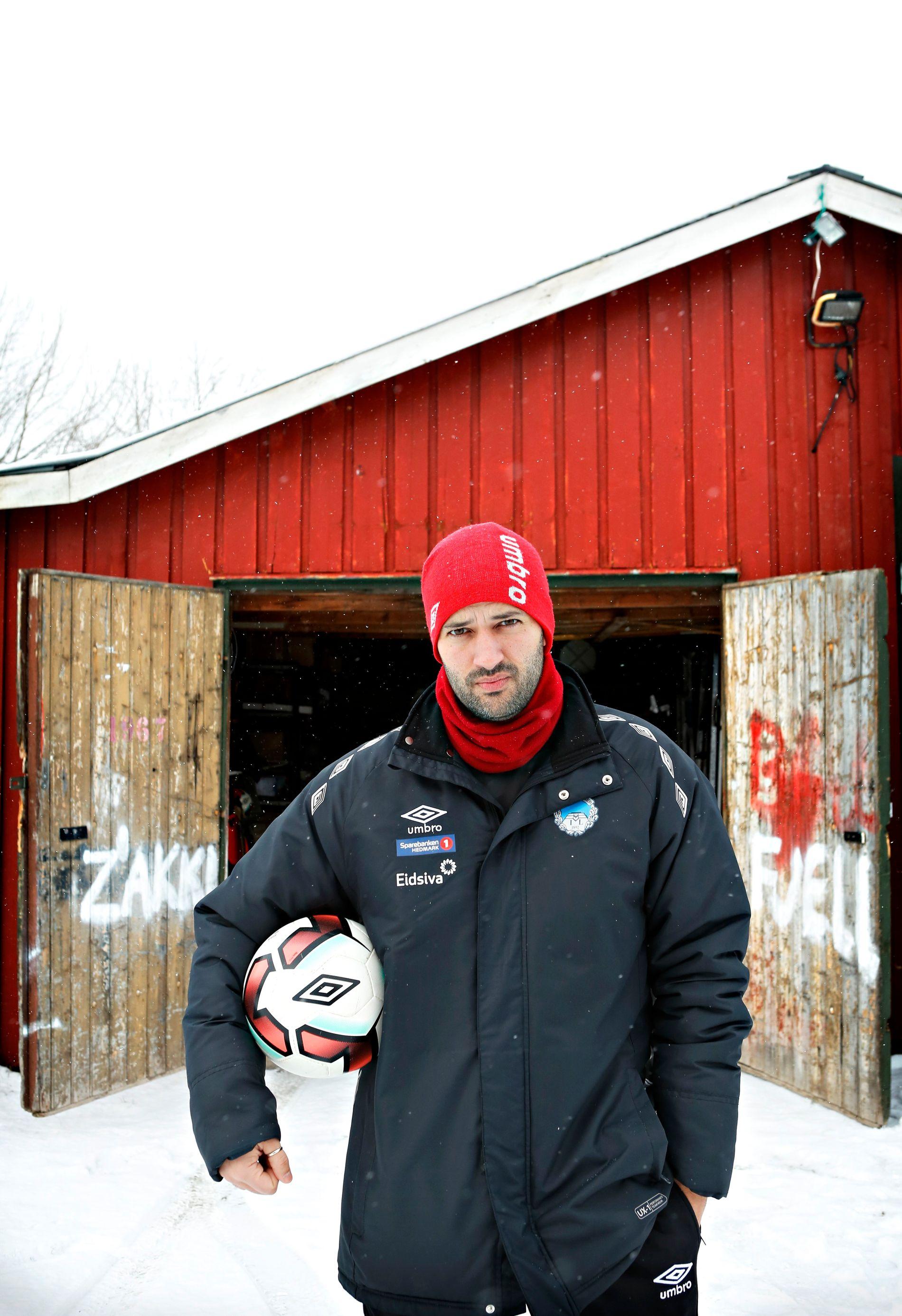 Kongsvinger-trener Luis Pimenta.
