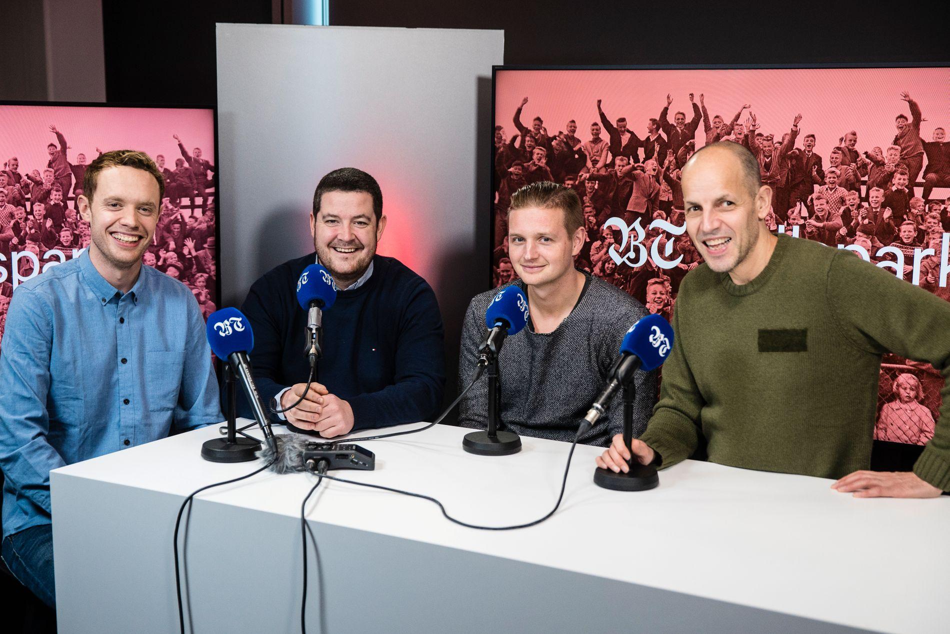 EUROPA-DRØM: Brann drømmer om gruppespill i Europaligaen. Det blir ikke enkelt, mener Doddo og Erik Huseklepp.
