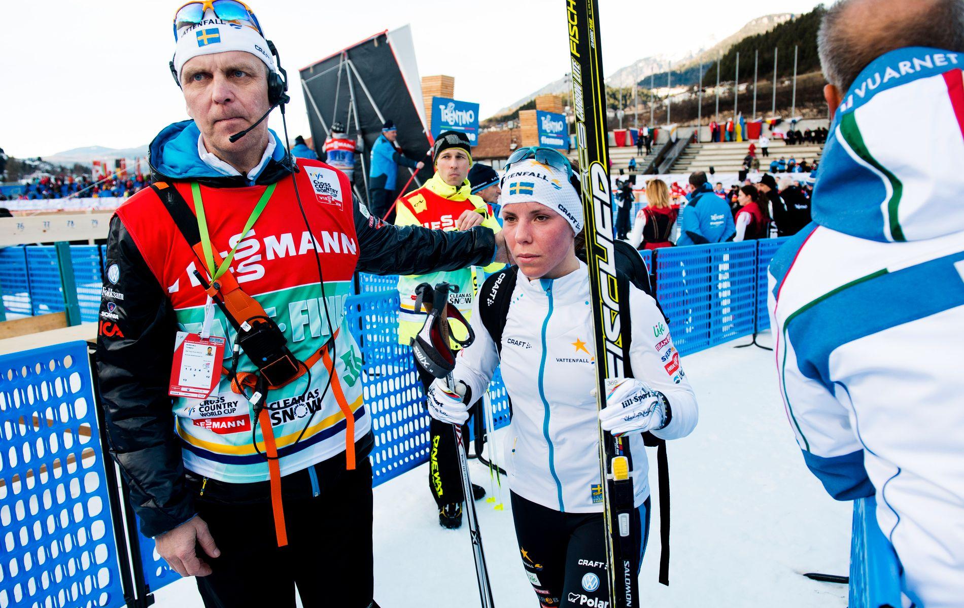 Torbjörn Nordvall har vært medierådgiver for Charlotte Kalla siden Tour de Ski-seieren i 2008.
