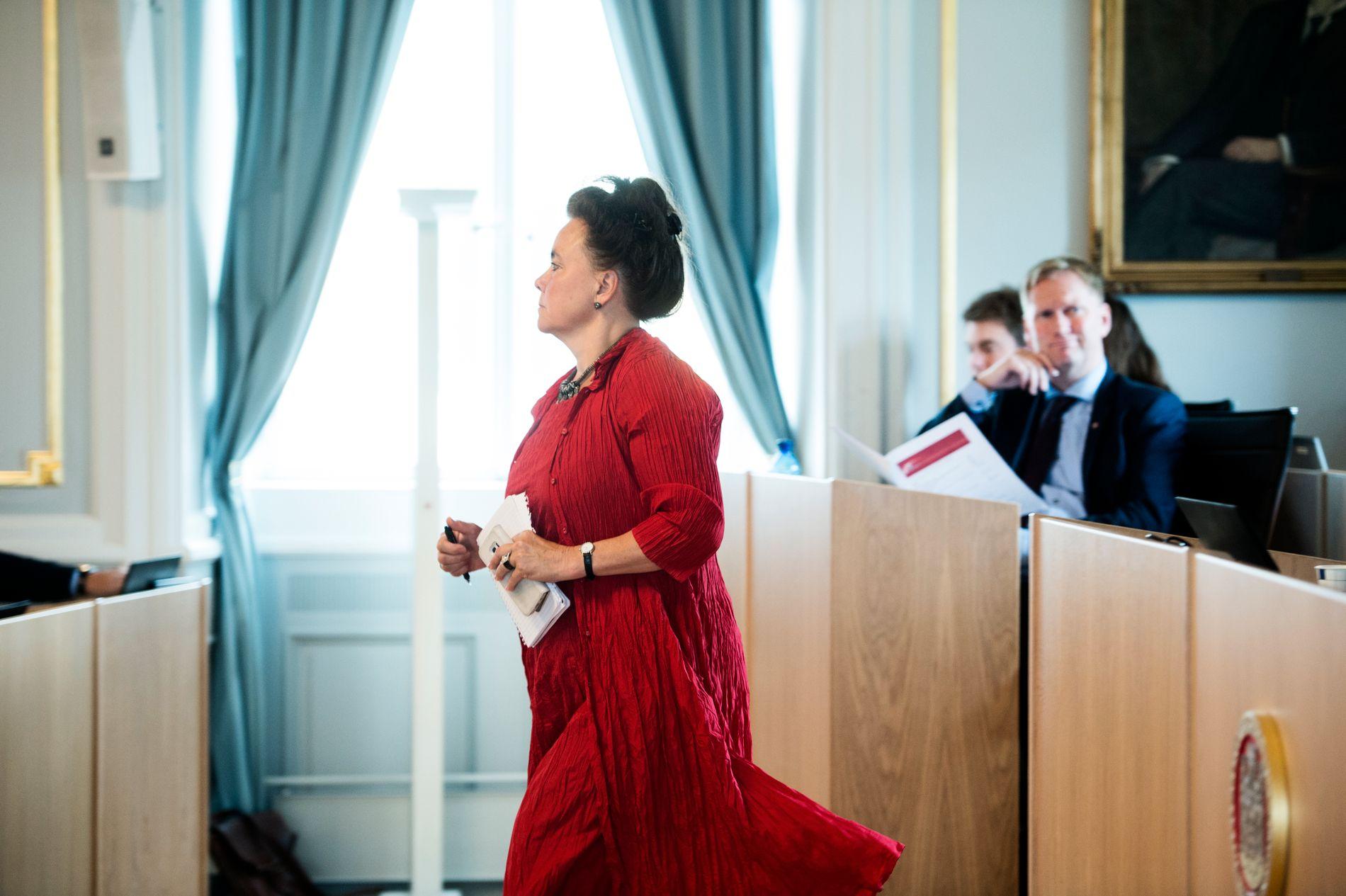 STRENG POLITIKK: Byutviklingsbyråd Anna Elisa Tryti (Ap) og byrådsleder Harald Schjelderup (Ap) står for en streng fortettingspolitikk, mener innsenderen.