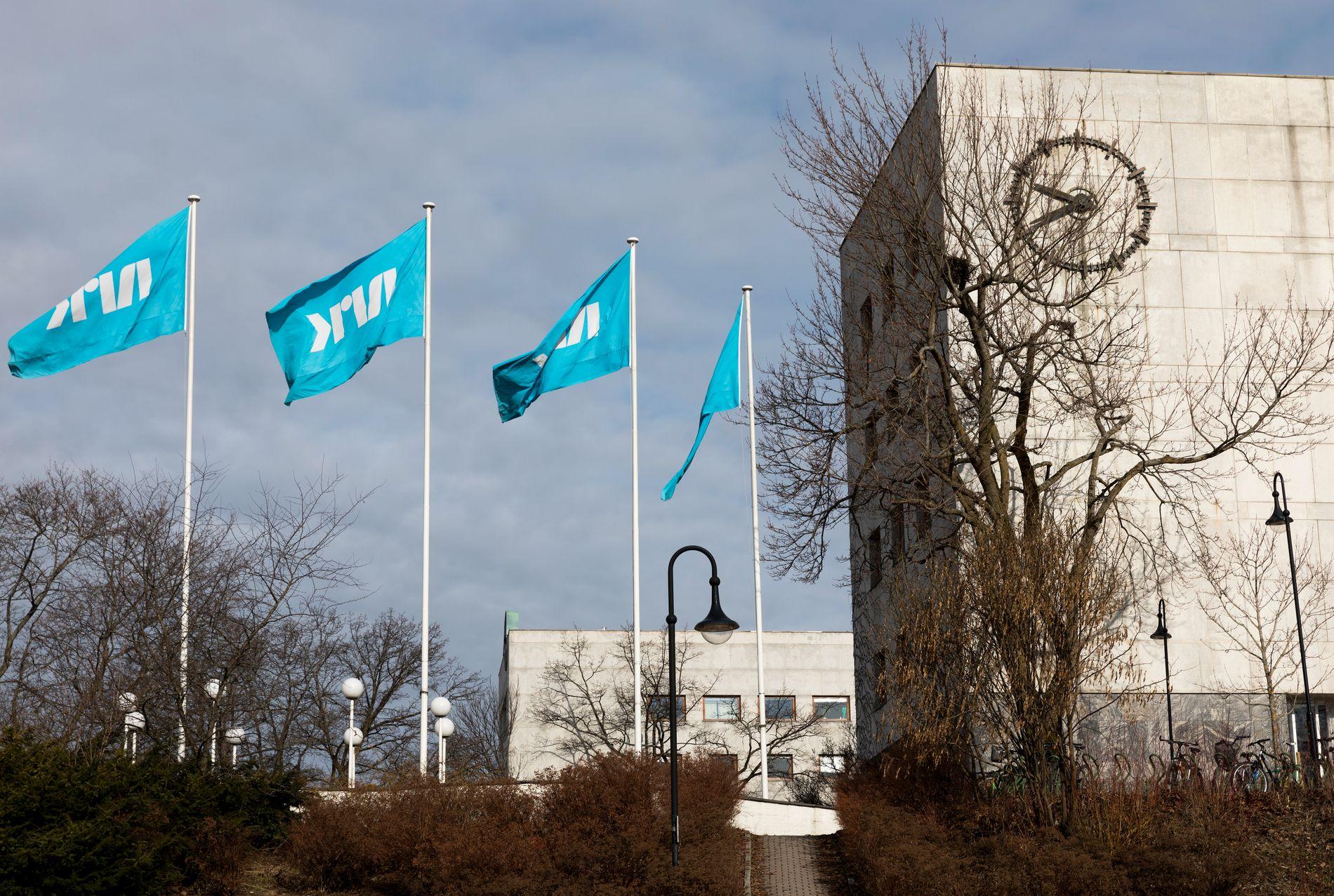 NRKs hovedkontor på Marienlyst. Foto: Gorm Kallestad / NTB scanpix