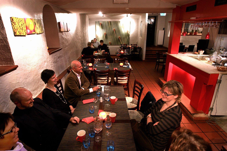 GOD VALUTA: Kjellerrestauranten Salsa i Neumanns gate byr på mat fra store deler av verden, og gir god valuta for pengene.