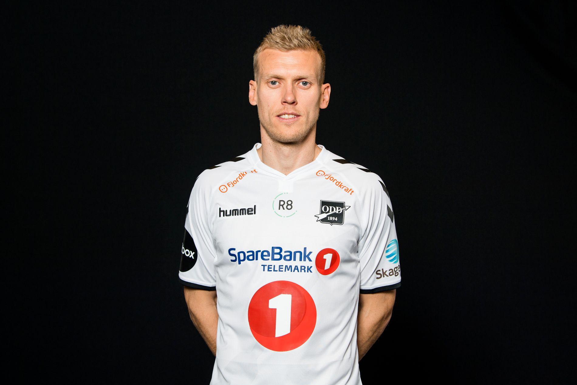 Odd-kaptein Steffen Hagen.