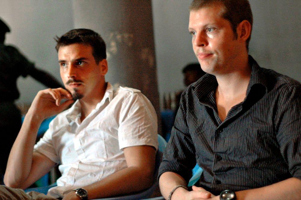 DØMT: Tjostolv Moland og Joshua French ble dømt for drap og spionasje i Kongo. Førstnevnte døde i fengsel i 2013. French ble løslatt i mai i fjor.