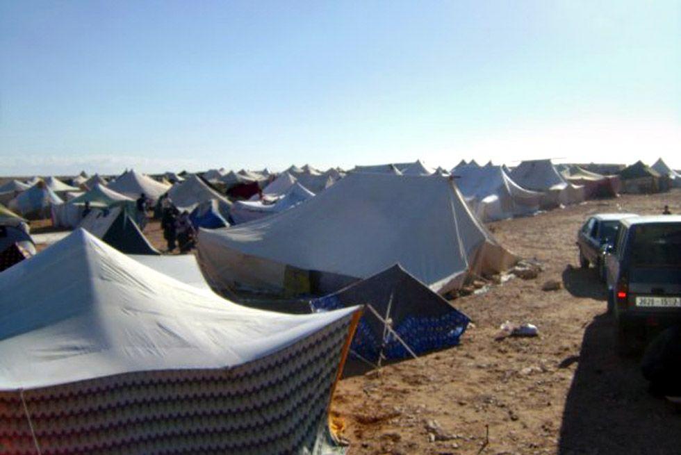 PROTESTLEIR: Gdeim Izik-leiren i oktober 2010.