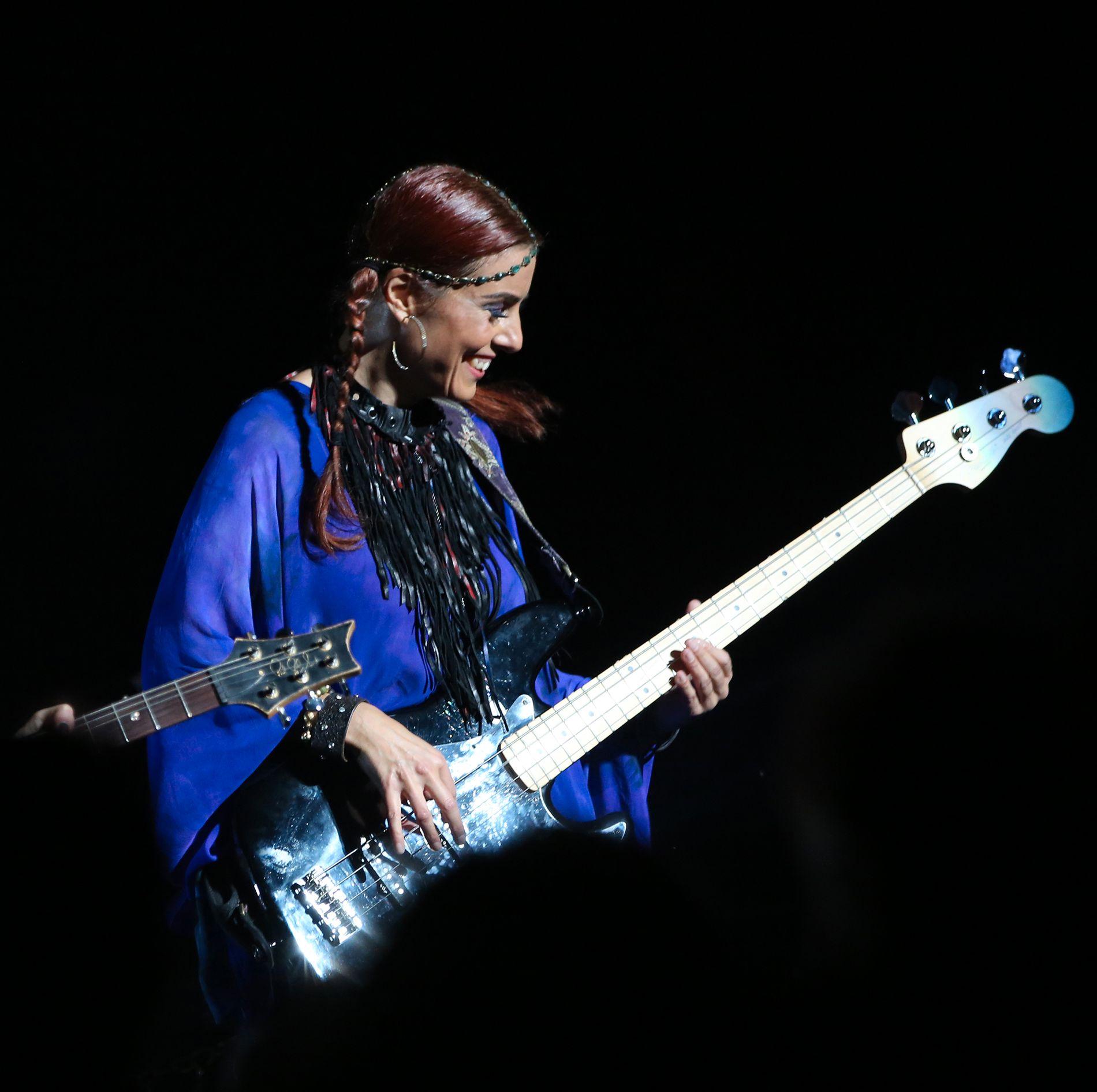 TIL BERGEN: Bassisten Ida Nielsen har spilt med artisten Prince. Til helgen har hun også en «egen kveld» på Logen.