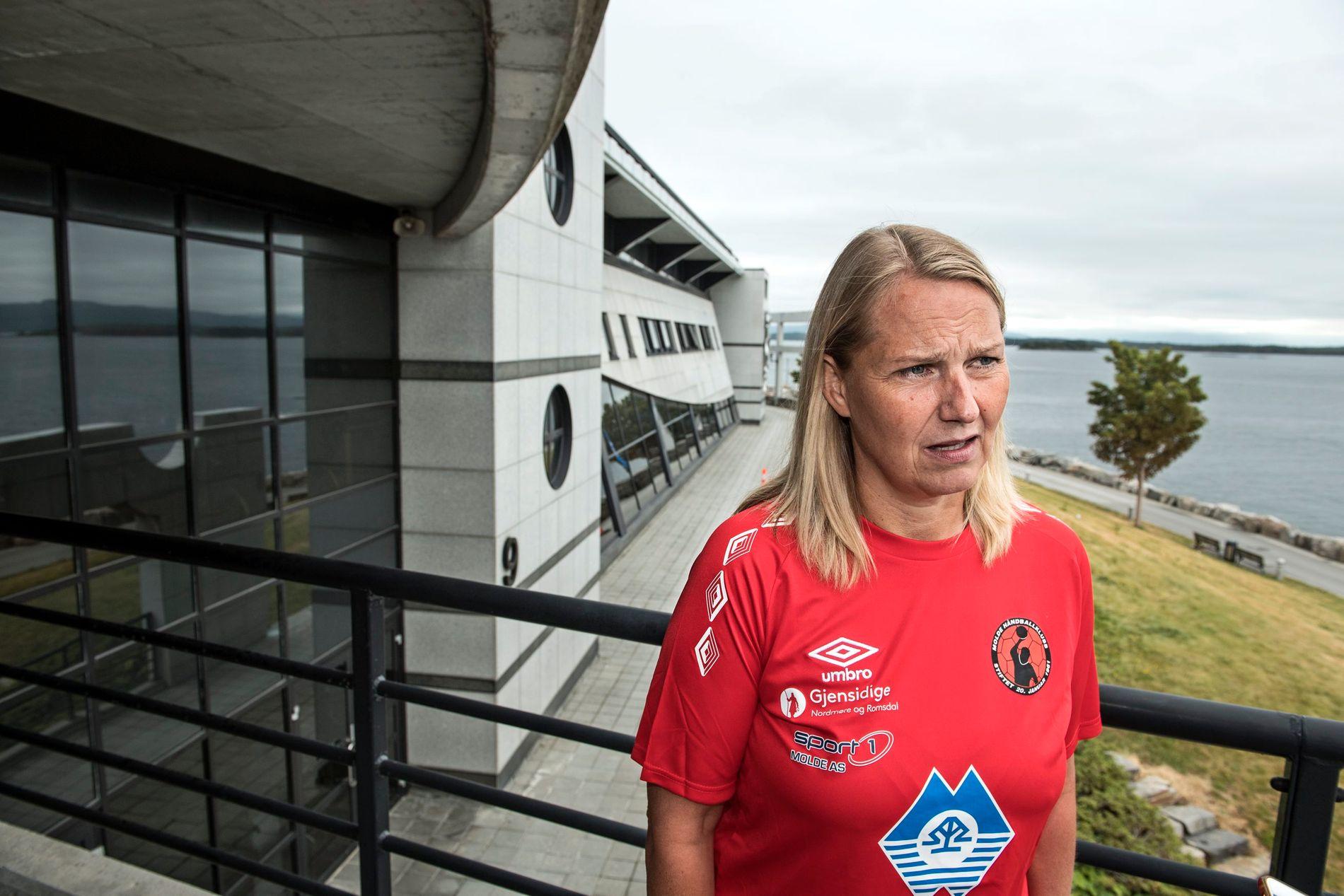 Klar for EM: Molde-trener Helle Thomsen leder også det nederlandske damelandslaget.