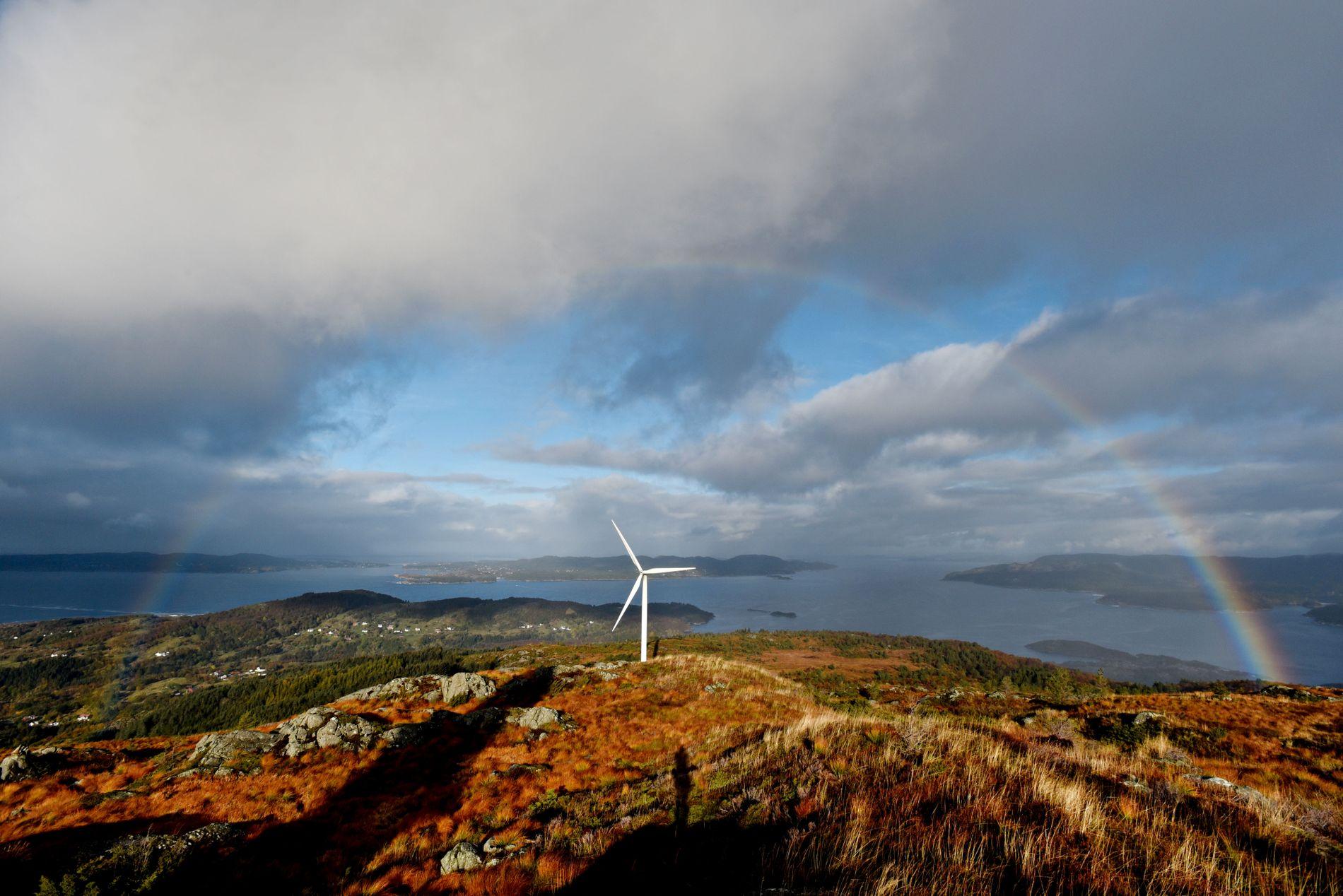 VIND: – Dersom ein berre bryr seg om å redusere klimautslepp, burde ein bygge vindturbinar på kvar einaste ledige fjelltopp. Men miljøkonsekvensane kompliserer situasjonen, spesielt for eit klima- og miljøparti, skriv Morten Myksvoll.