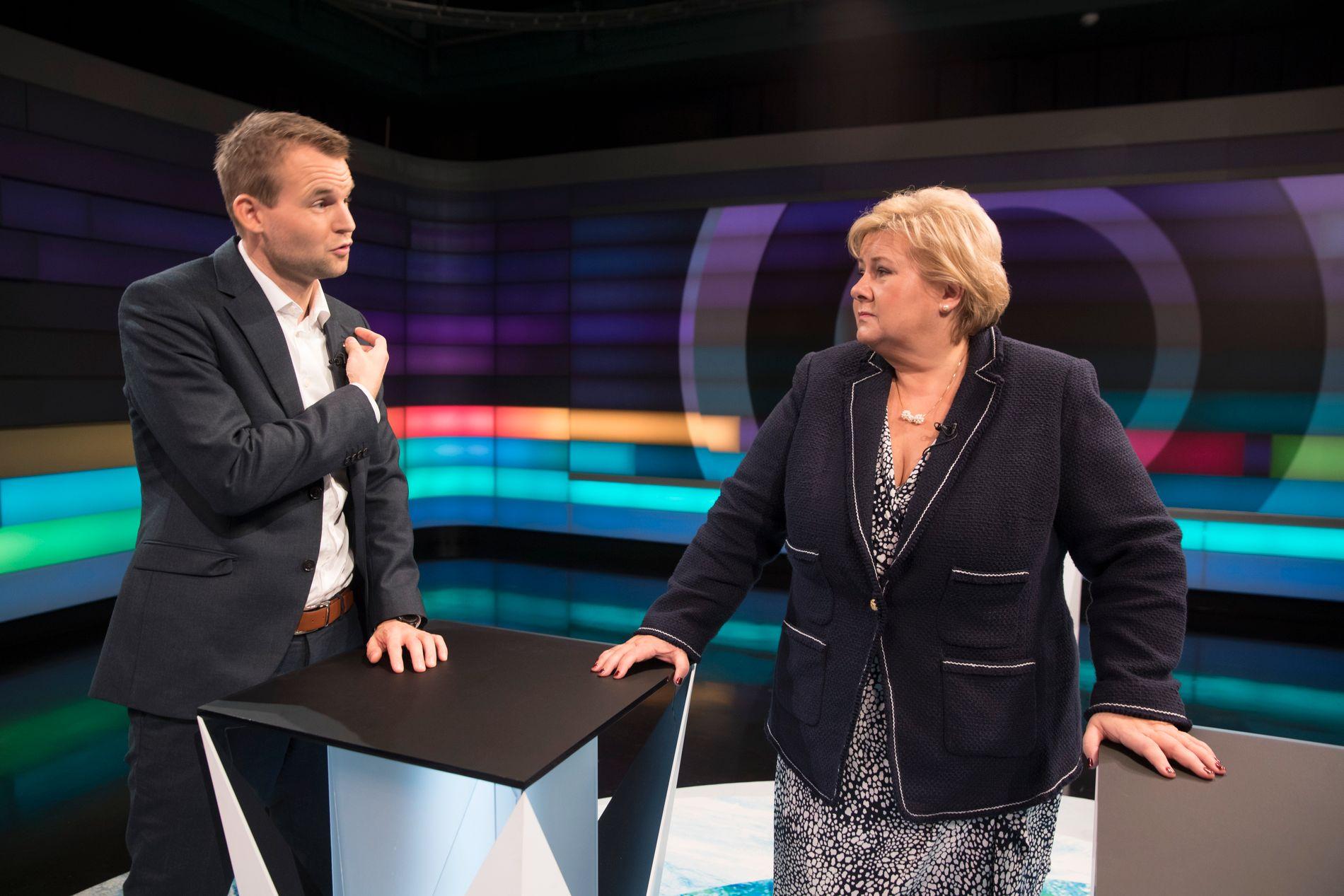 FORHANDLINGER: Nestleder i KrF Kjell Ingolf Ropstad og statsminister Erna Solberg skal forhandle om å endre abortloven. Selv ubetydelige endringer vil være en seier for KrF.