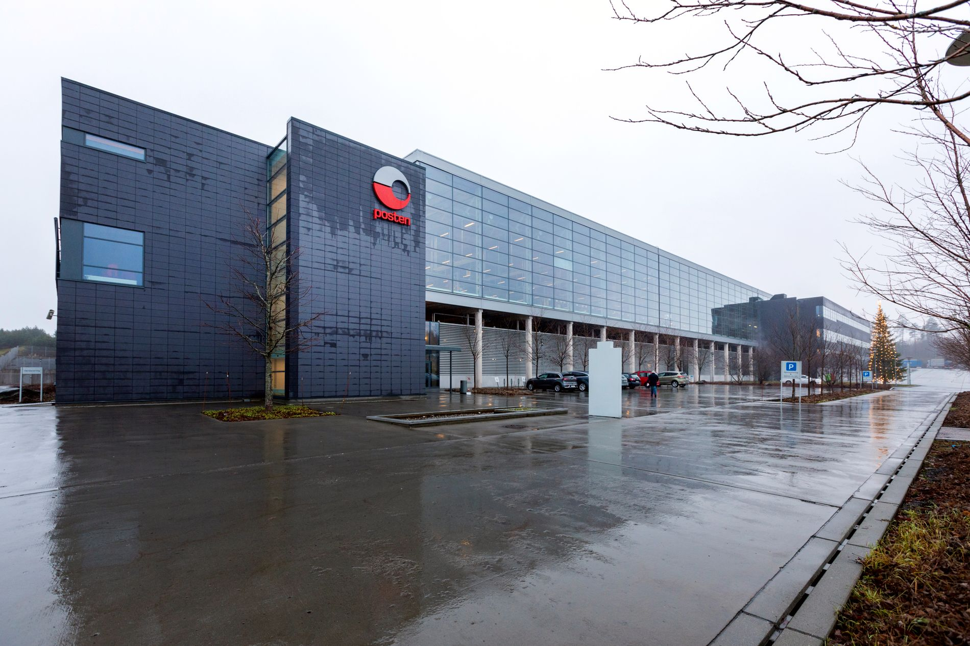 LØRENSKOG: Heretter skal all sortering av post i Sør-Norge skje her på Postens terminal på Lørenskog.