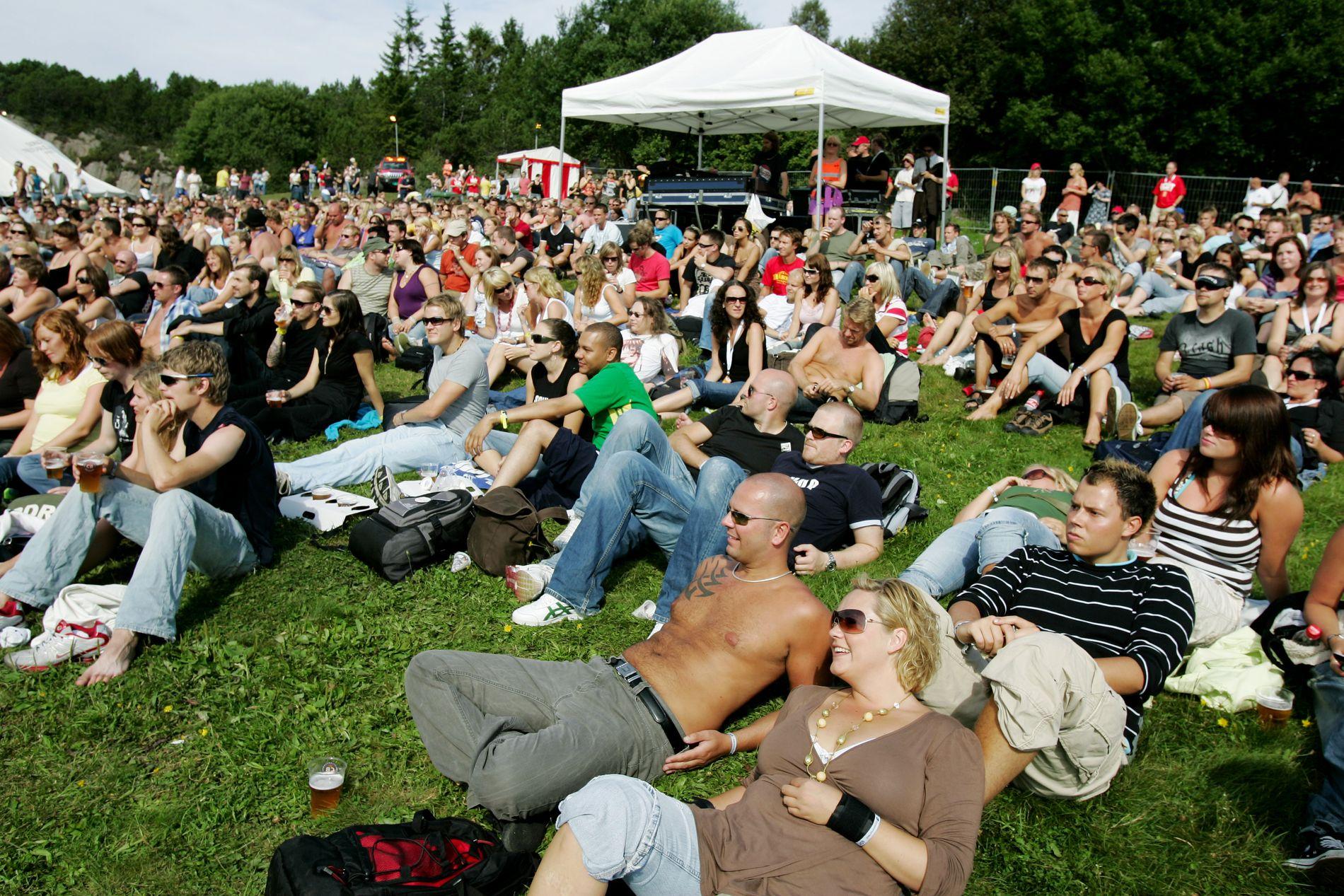 """GOD STEMNING: """"Norges vakreste festival"""" er slagordet til Lost Weekend. Noe som stemmer, så lenge været holder."""