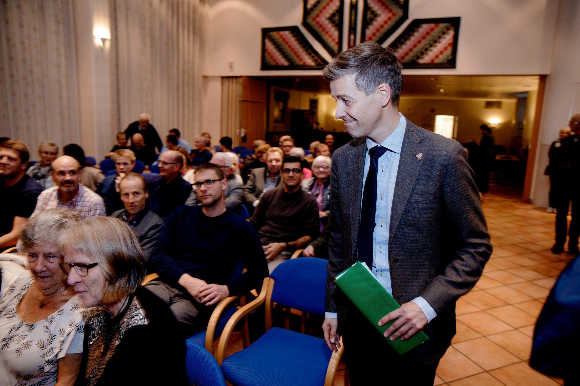 SEIER: KrF-leder Knut Arild Hareide mener Høyesterettsdommen i saken om legen som reserverte seg mot å sette inn spiral er en viktig seier for samvittighetsfriheten i Norge.