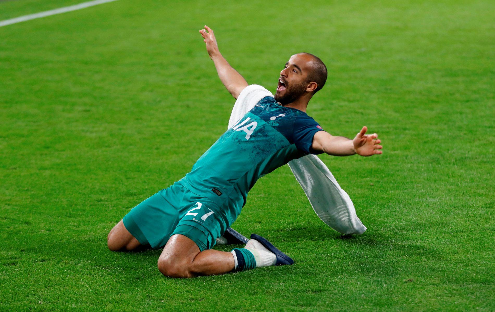 Lucas Moura senket Ajax med tre scoringer.