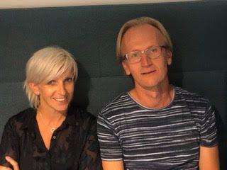 FAMILIETERAPI: Rebekka Skaar og Håvard Sætre jobber ved Bjørgvin familierådgivning.