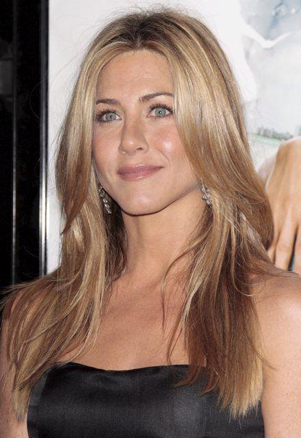 3. PLASS: Jennifer Aniston slår sin eksmann Brad Pitt på kjendisskalaen i 2008.