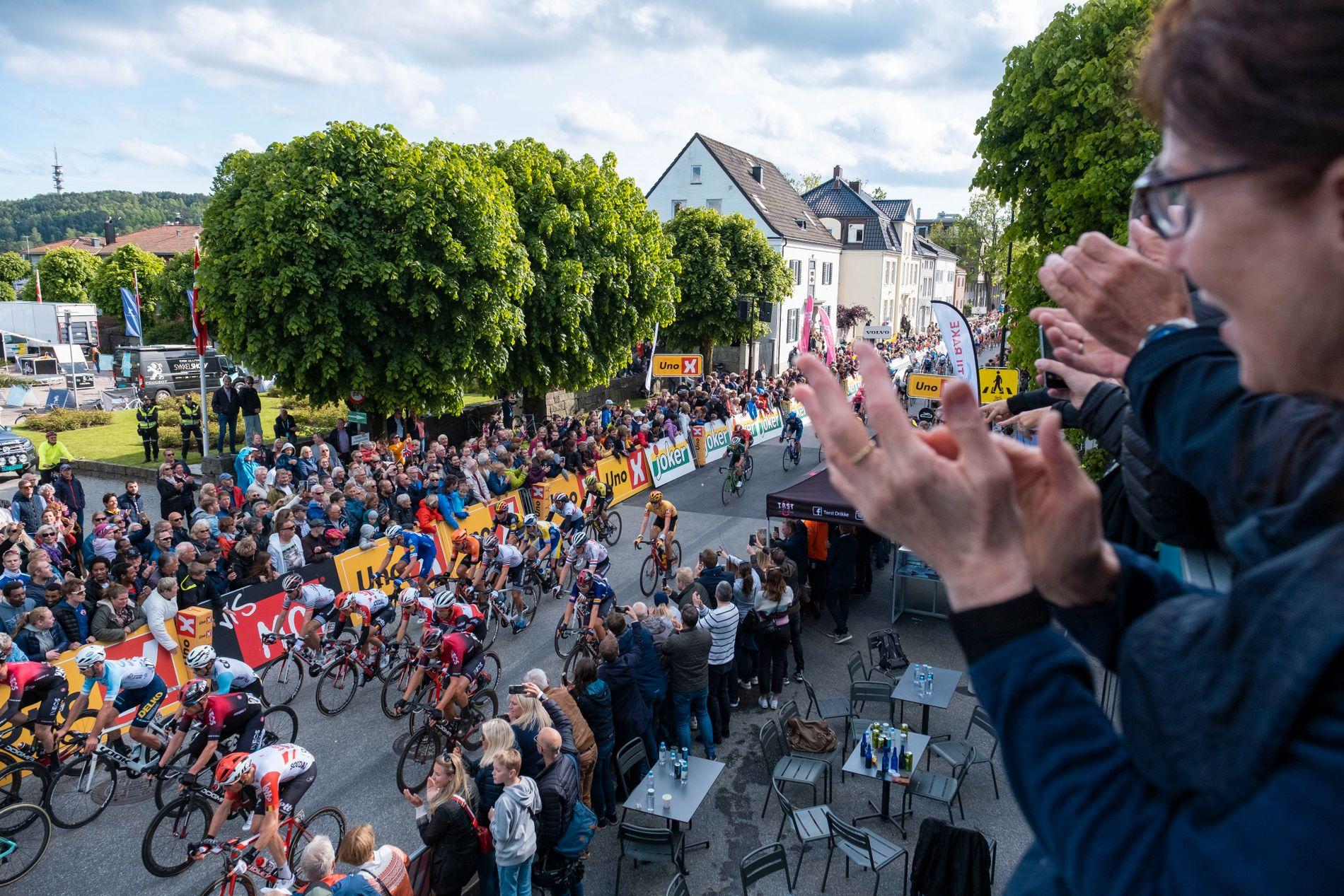 Det var folkefest i Kristiansand under Tour of Norway tidligere i år.