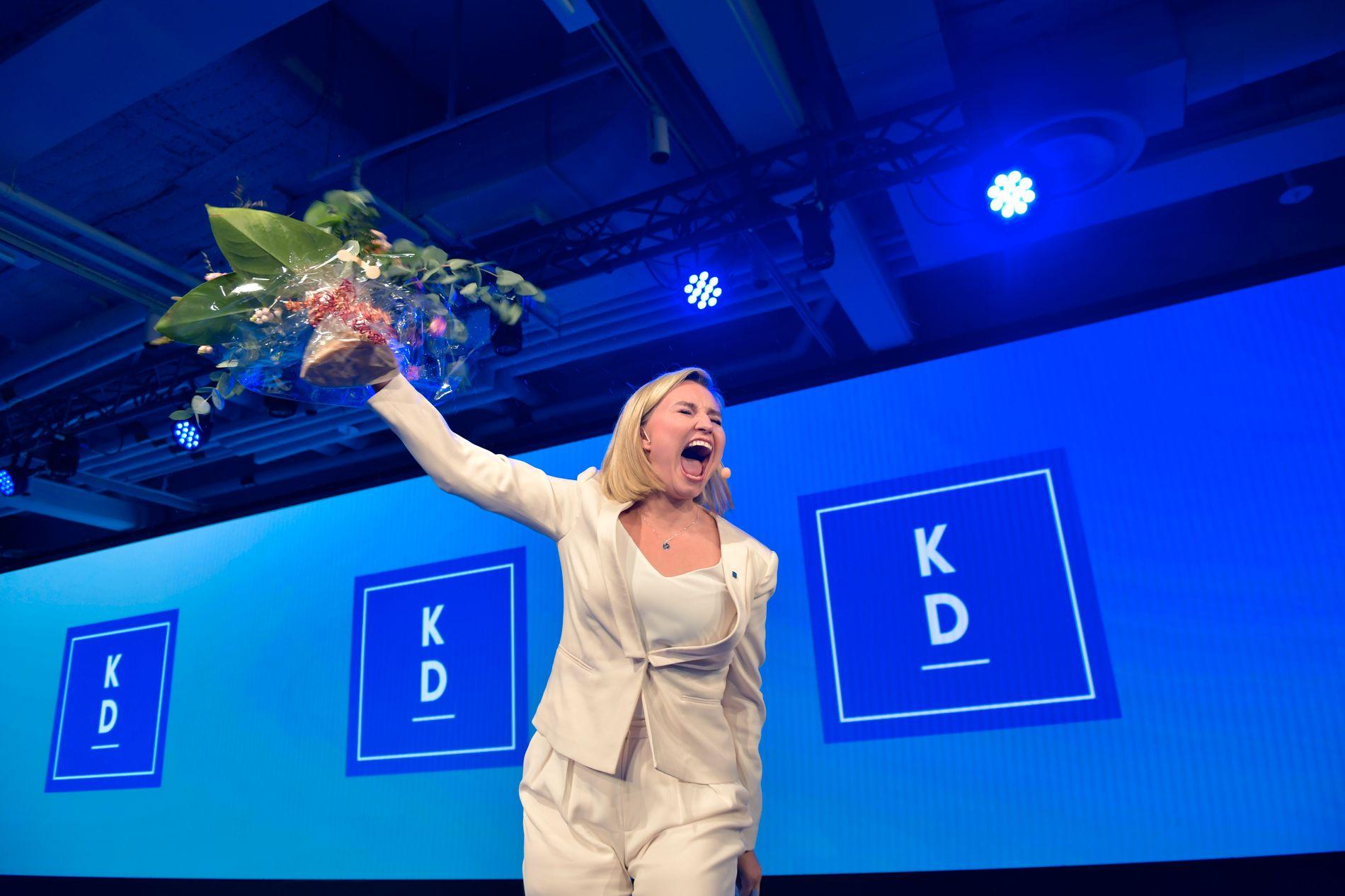 SUKSESS: – Ebba Busch Thor har tatt svensk politikk med storm. Ho trefte godt på valkampen, og førte KD sitt beste val sidan 2006, skriv Morten Myksvoll.