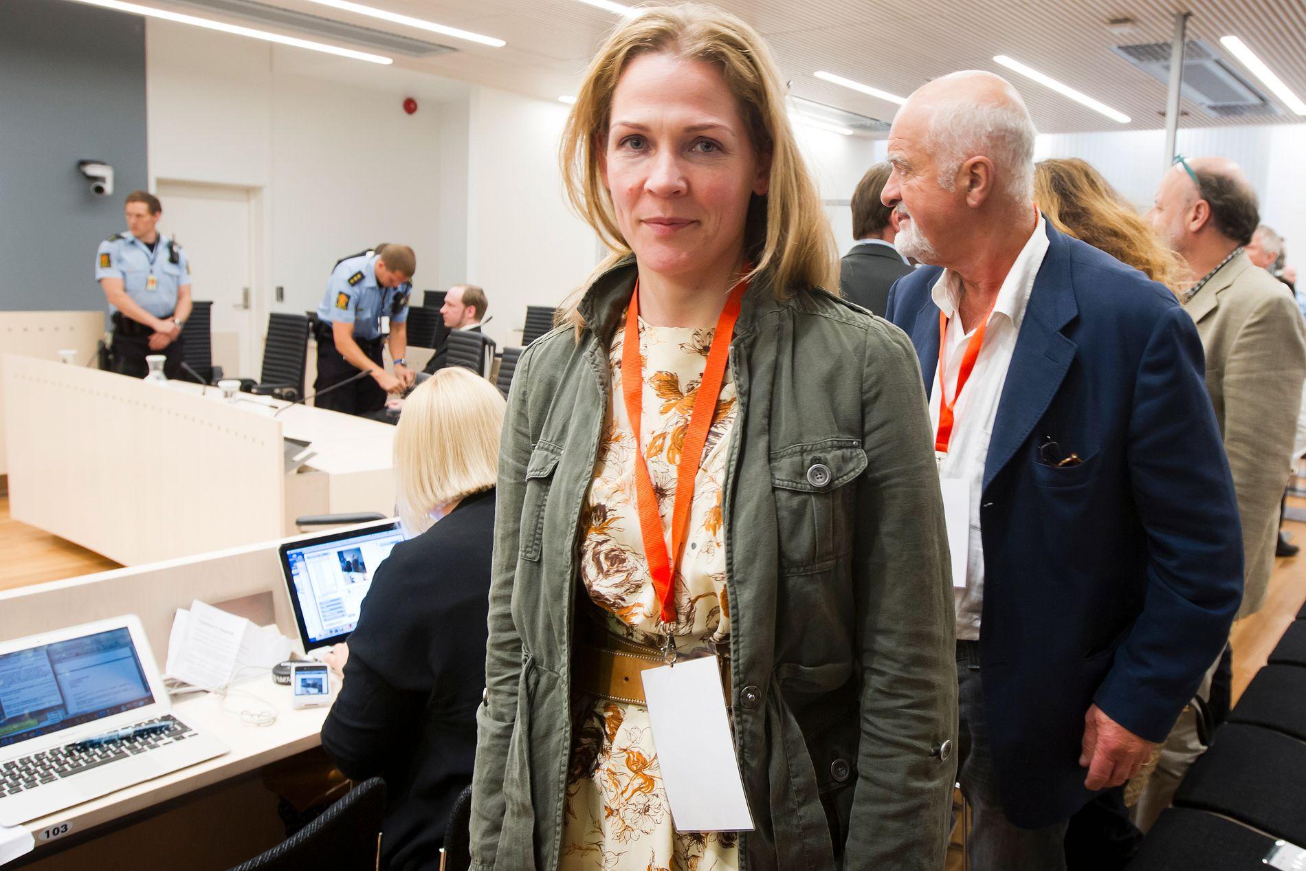 RETTSSAKEN: Åsne Seierstad fulgte rettssaken mot Anders Behring Breivik i 2012.