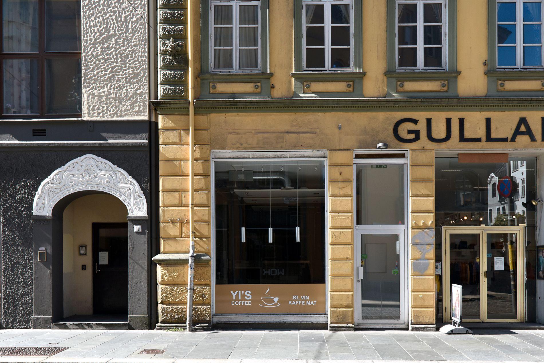 TOMT: Nygårdsgaten 1A var et av mange tomme lokaler Byarkitekten fant på sin vandring gjennom Bergen sentrum.