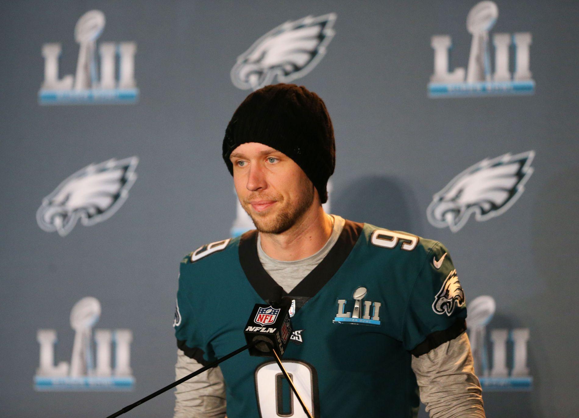Nick Foles hadde planer om å legge opp for et par år siden. Nå er han i sin første Super Bowl.